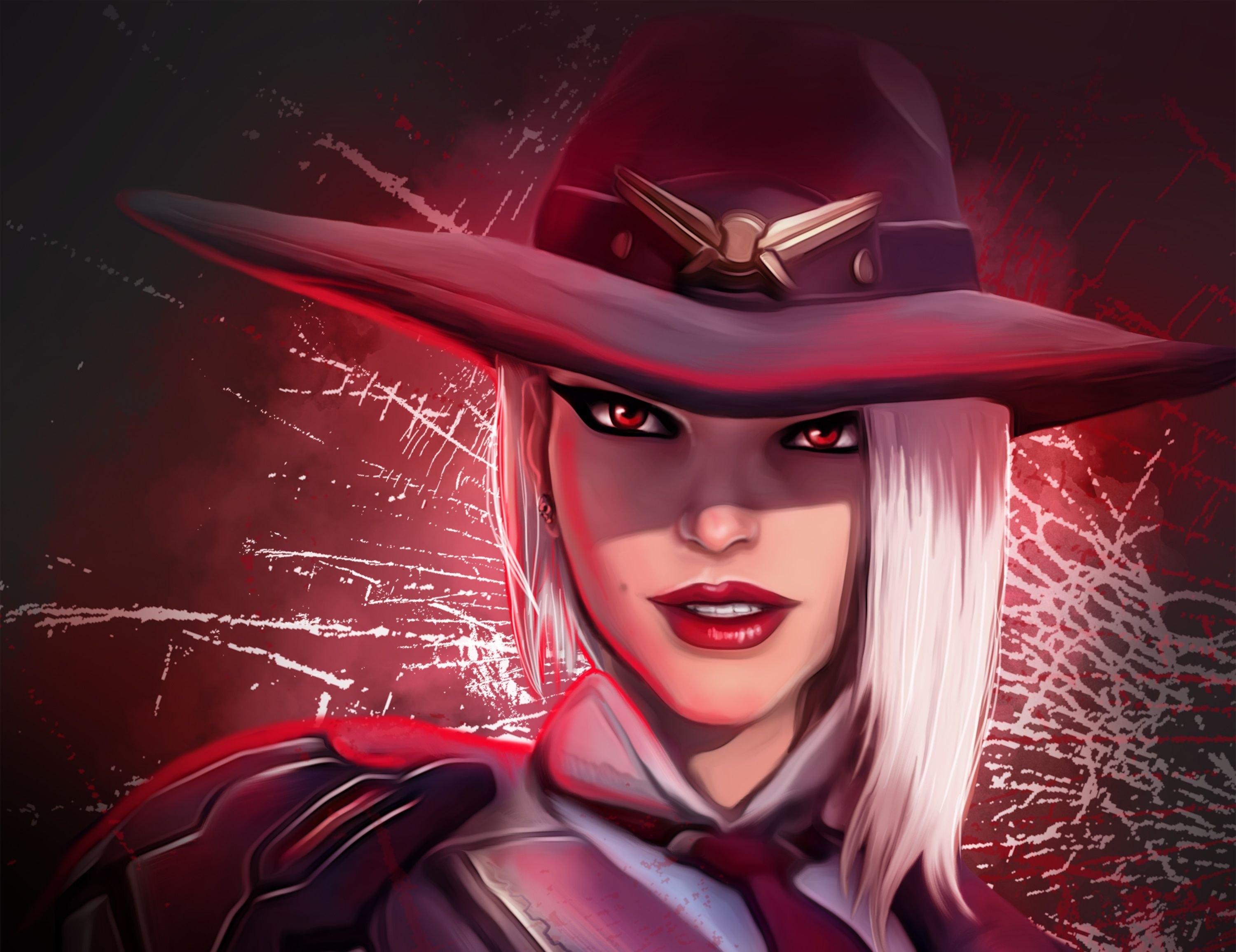 Ashe Overwatch Game Art overwatch wallpapers, hd