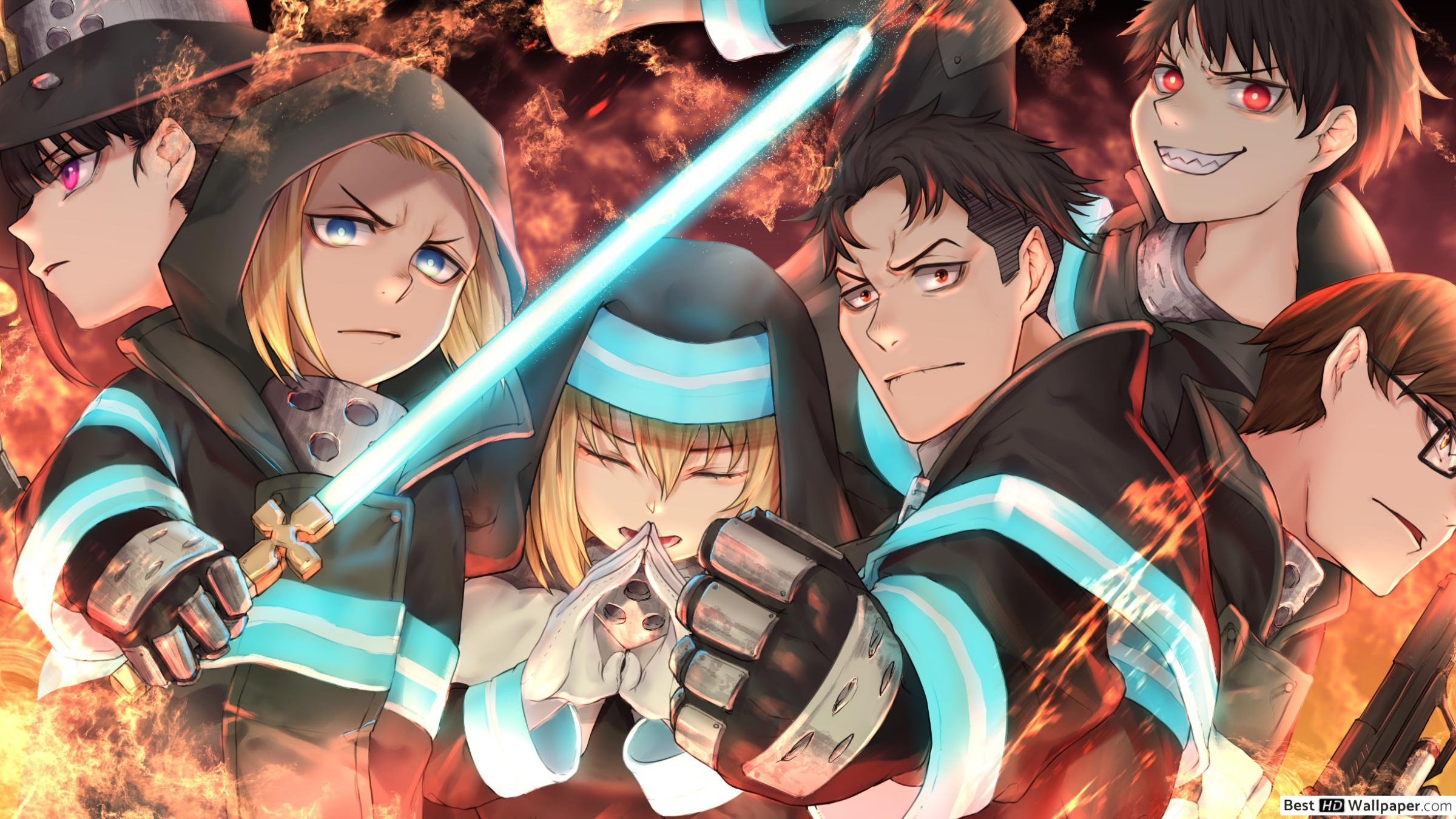 Fire Force Anime Wallpapers Top Free Fire Force Anime Backgrounds Wallpaperaccess The animation will make the flames leap but you can't be harmed. fire force anime wallpapers top free