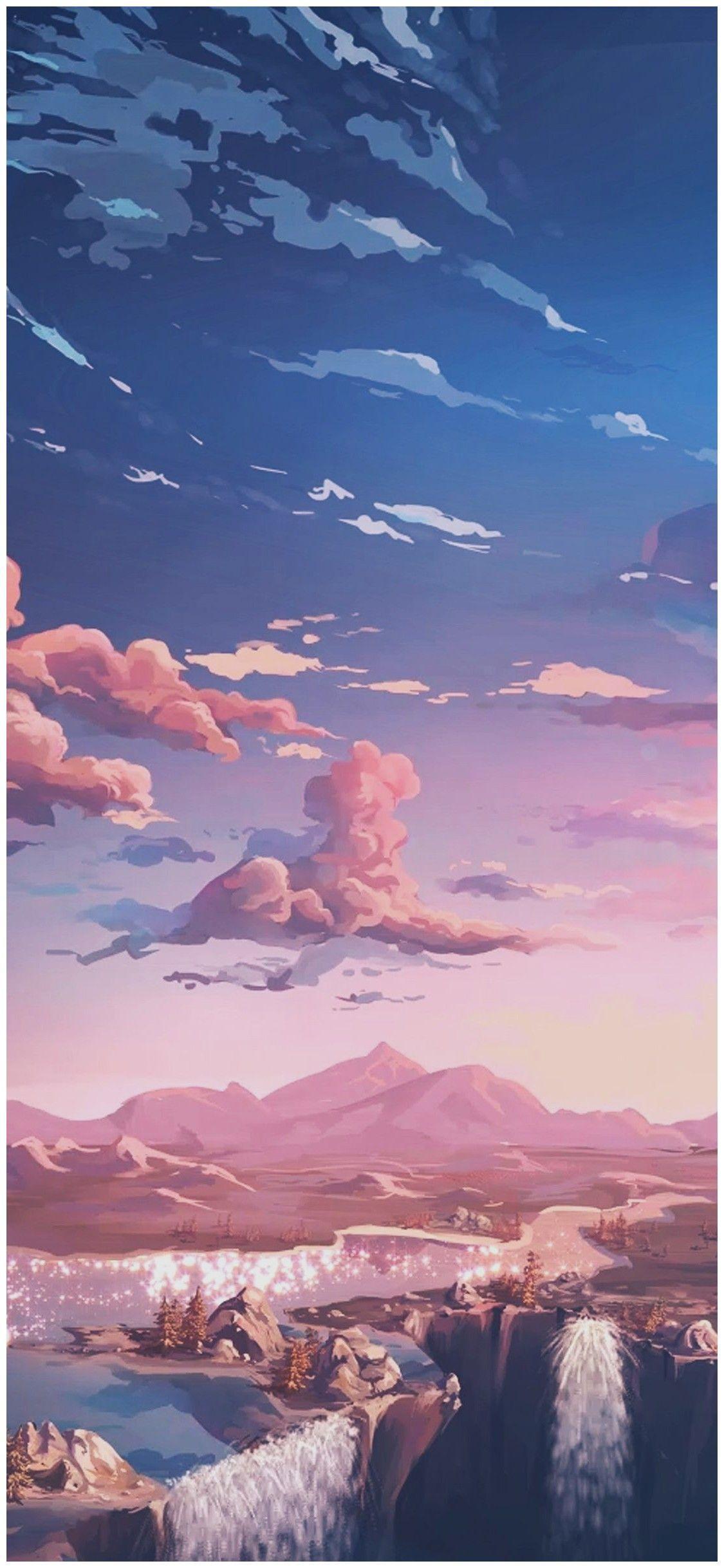 Hình nền Anime thẩm mỹ 1125x2436 HD