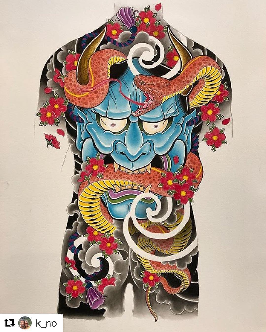 Japanese Tattoo Wallpapers: Top Free Oni Irezumi Backgrounds