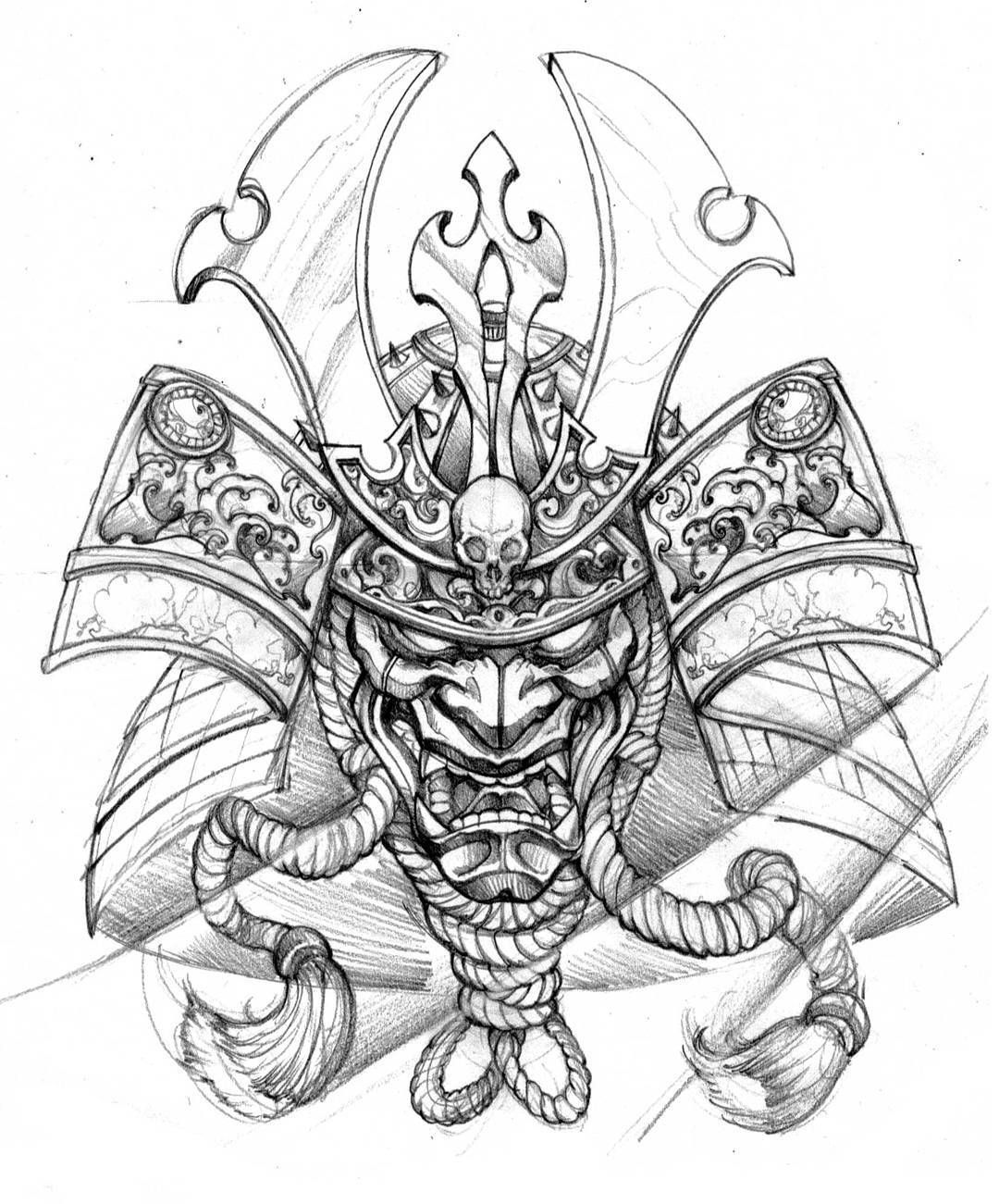 Top Free Oni Irezumi Backgrounds