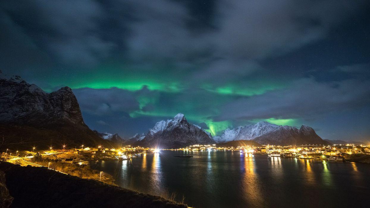 Lofoten Islands Wallpapers Top Free Lofoten Islands Backgrounds Wallpaperaccess