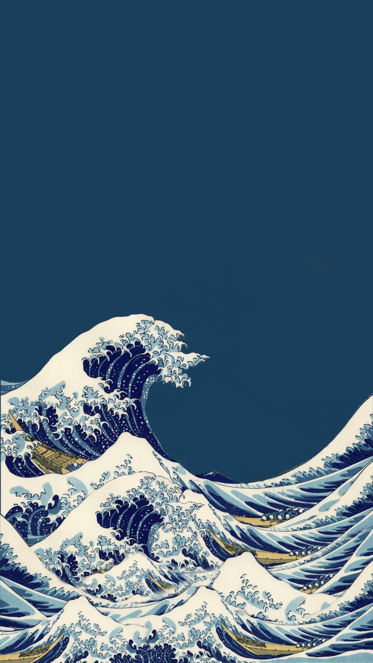 The Great Wave Off Kanagawa Wallpapers Top Free The Great Wave