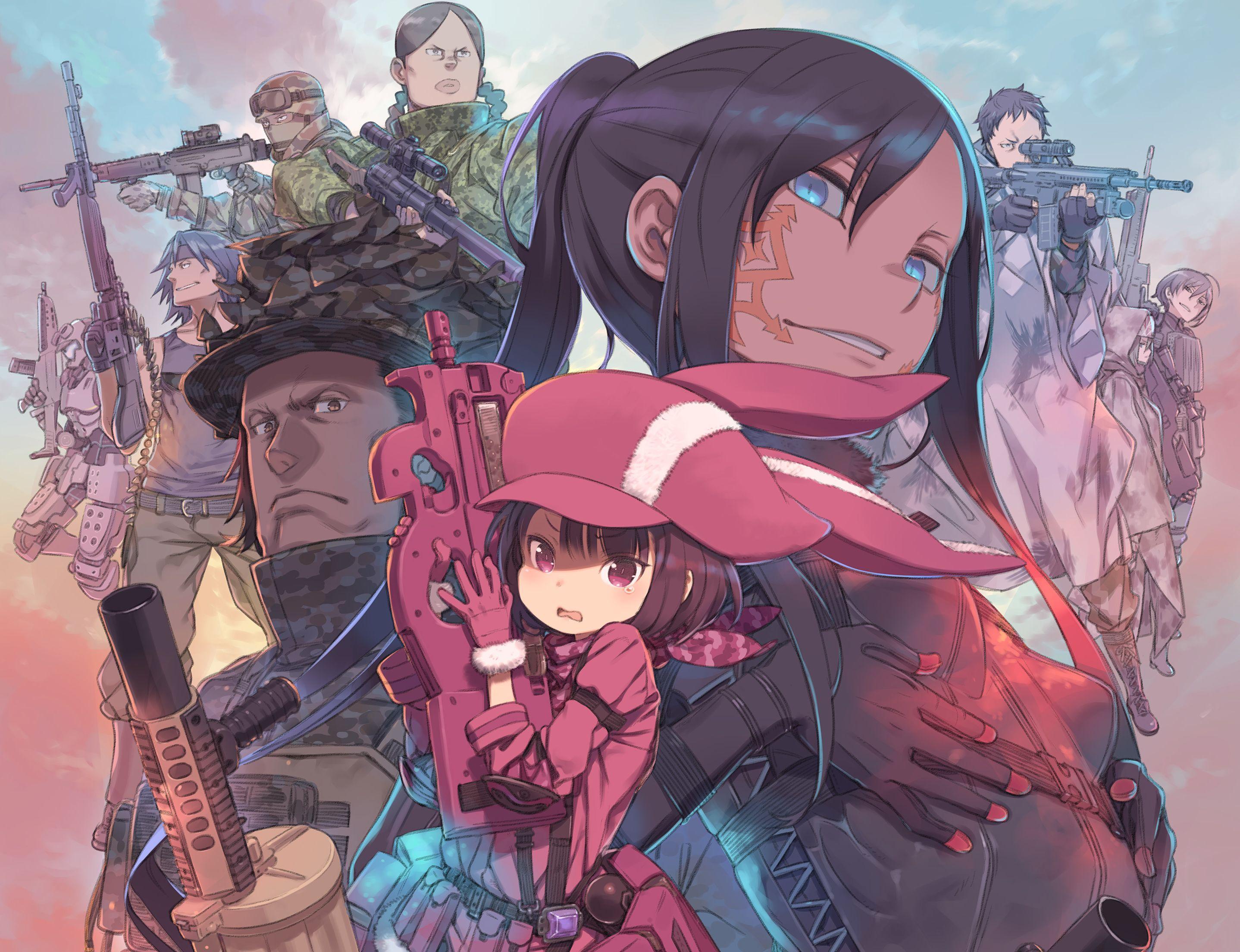 Sword Art Online Alternative Gun Gale Online Wallpapers Top Free
