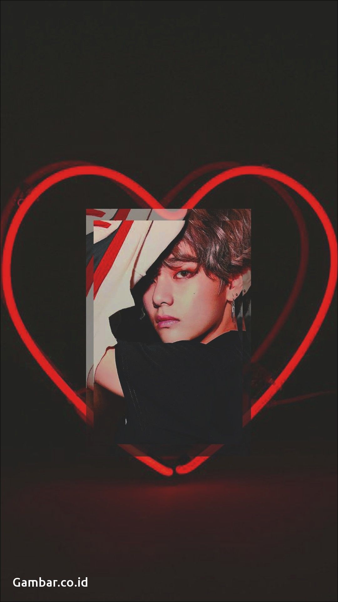 Aesthetic Iphone Bts V Wallpaper