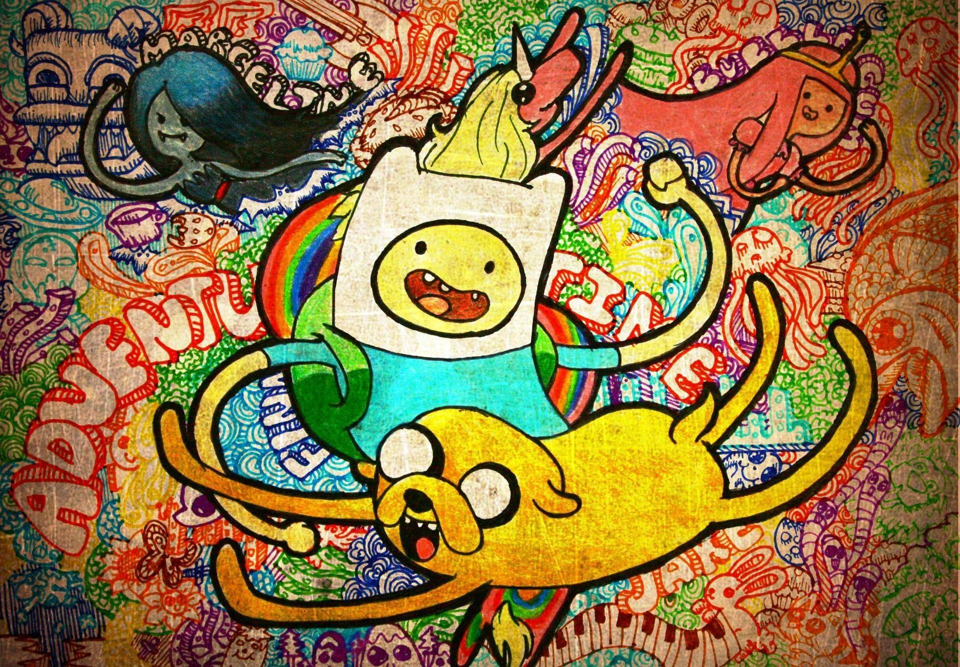 Trippy Cartoon Wallpapers Top Free Trippy Cartoon Backgrounds