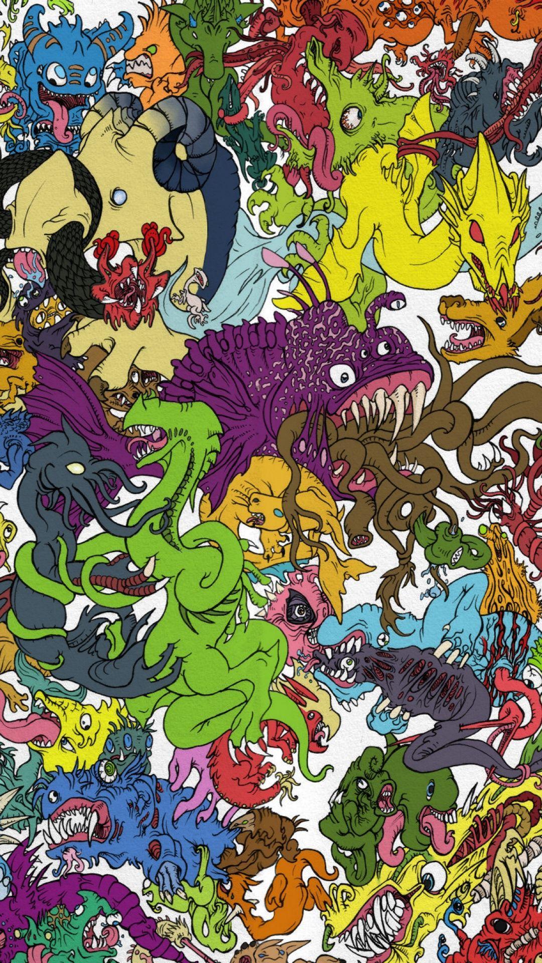 Trippy Cartoon Wallpapers - Top Free Trippy Cartoon ...