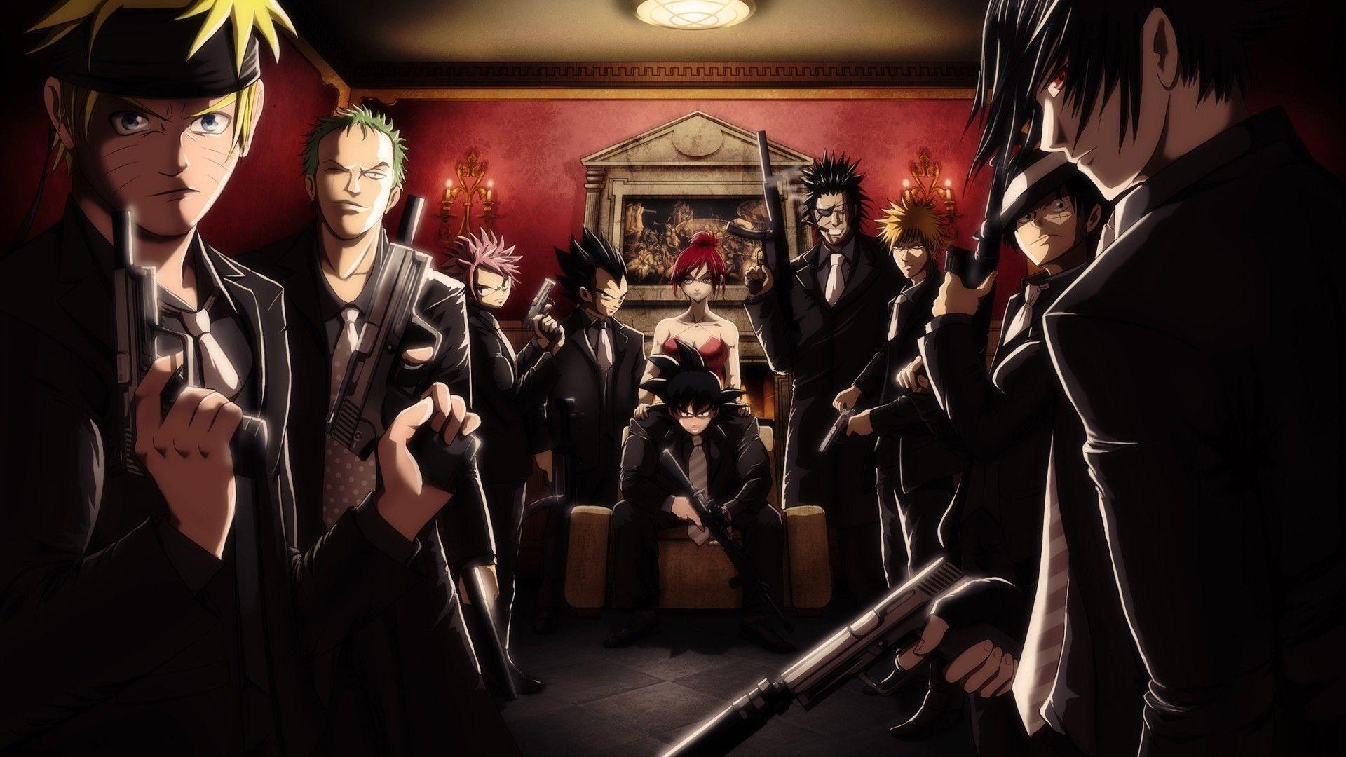 Anime Mafia Wallpapers Top Free Anime Mafia Backgrounds Wallpaperaccess