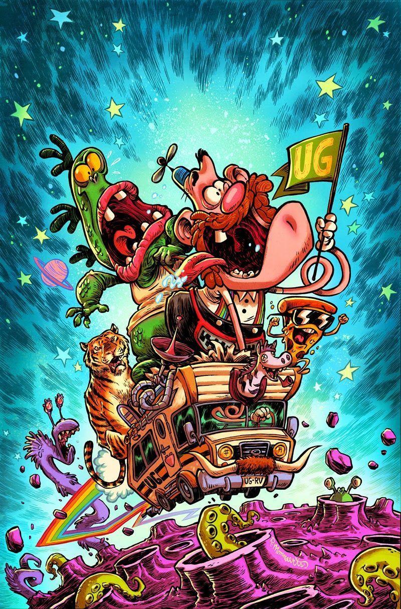 Trippy Cartoon Wallpapers - Top Free Trippy Cartoon