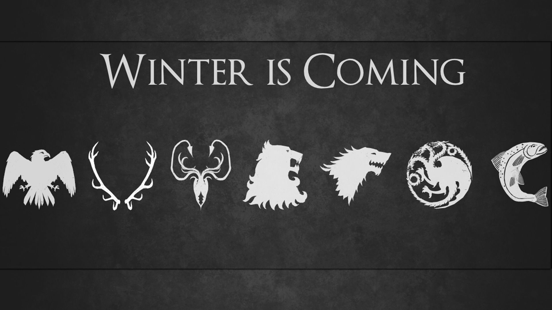 1024x768 Winter Is Coming Wallpaper From The House Stark By WillaWombat On