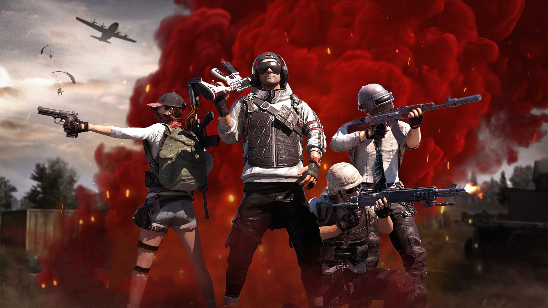 Pubg 1080p Wallpapers Top Free Pubg 1080p Backgrounds Wallpaperaccess