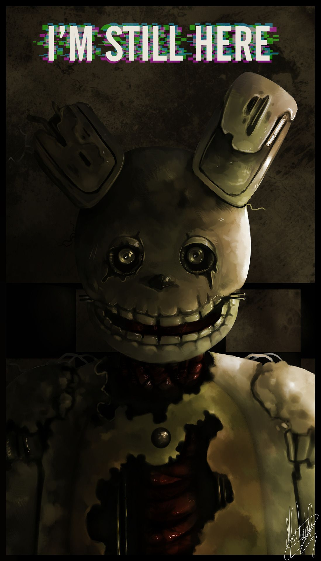 Springtrap Wallpapers Top Free Springtrap Backgrounds