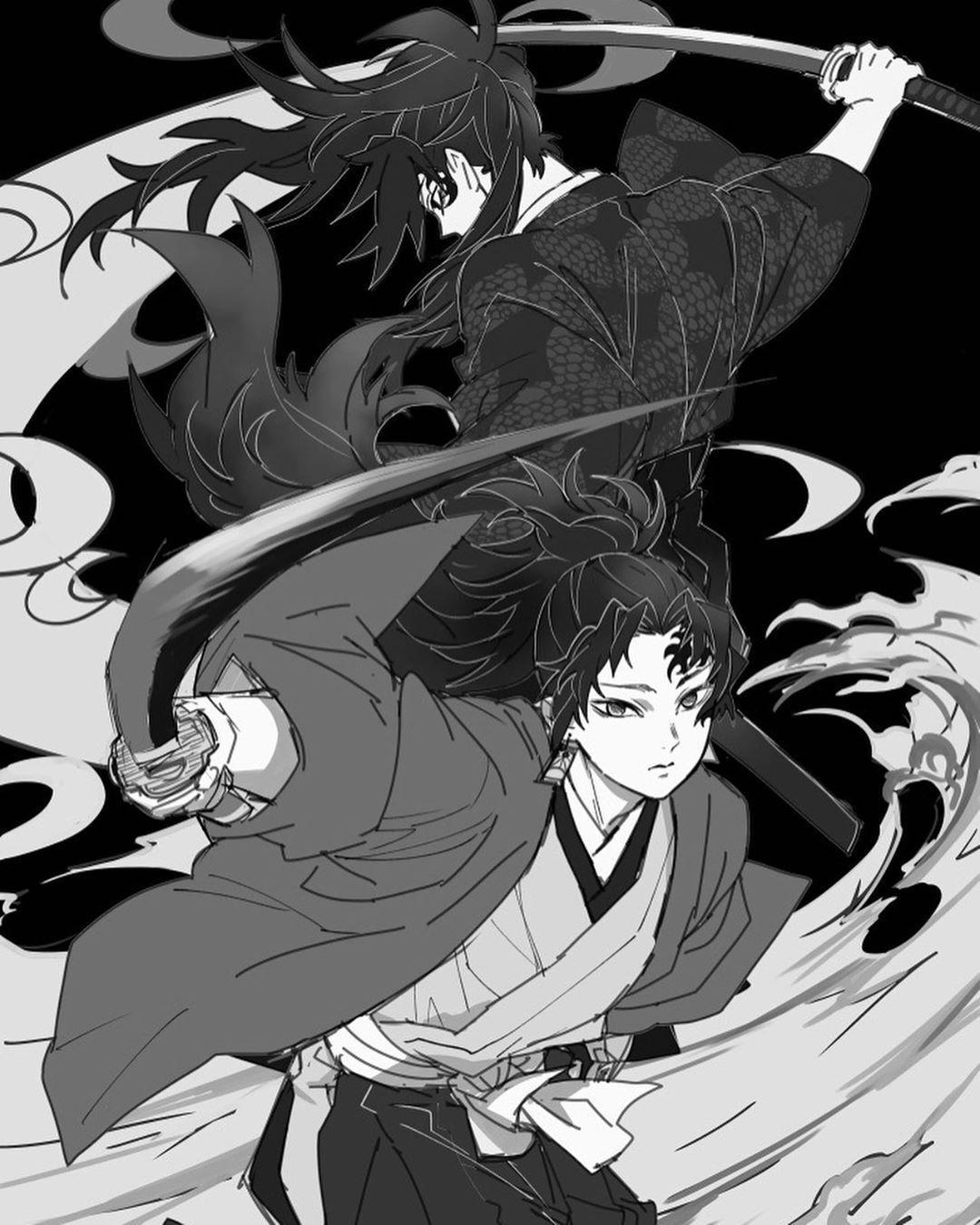 Demon Slayer Wallpaper Black And White Anime Wallpaper Hd The final chapter for koyoharu gotouge's demon slayer: