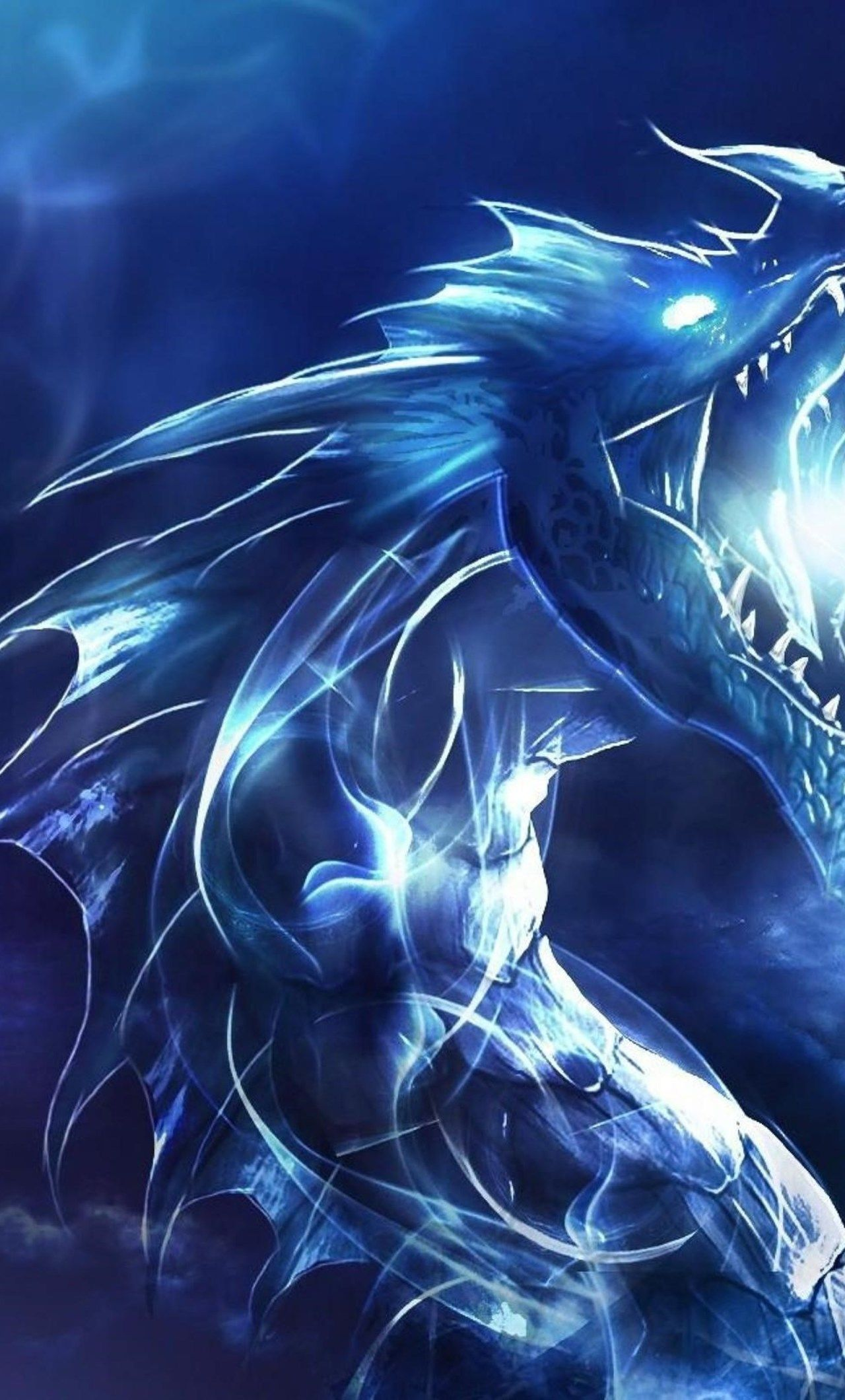 Blue Dragon Iphone Wallpapers Top Free Blue Dragon Iphone