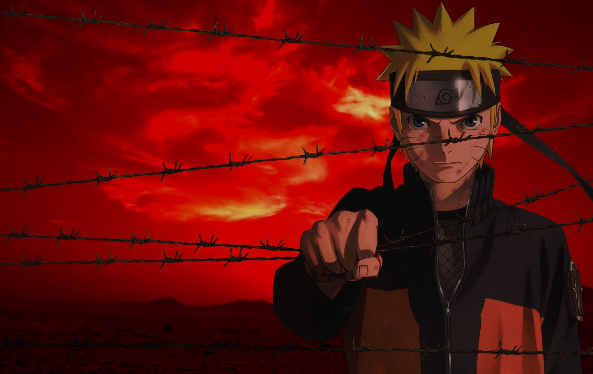 Naruto Red Wallpapers Top Free Naruto Red Backgrounds Wallpaperaccess