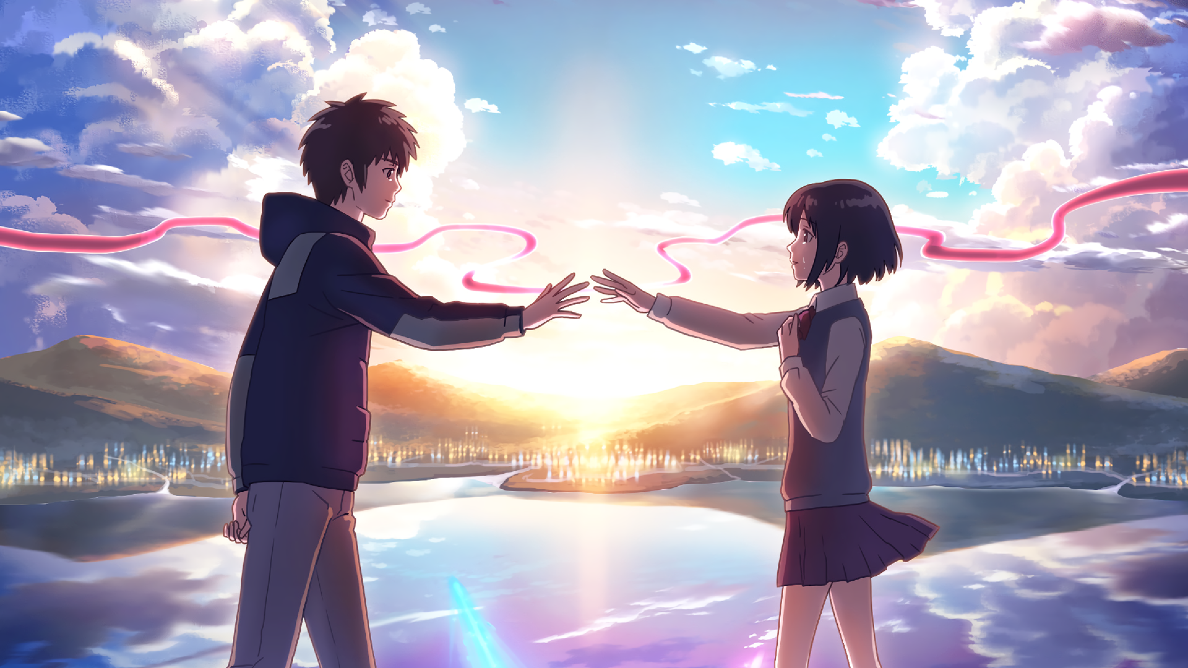 Your Name 4k Hd Wallpapers Top Free Your Name 4k Hd Backgrounds Wallpaperaccess