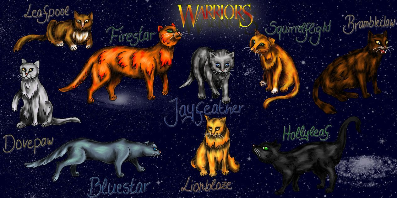 1024x768 WARRIOR CATS AWESOME