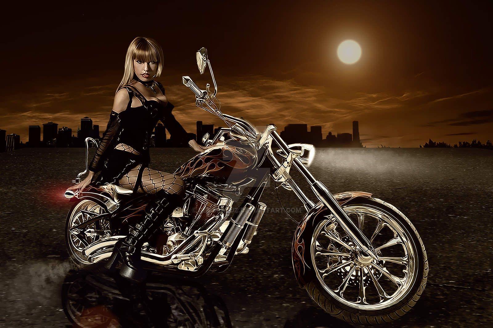 Bobber Cafe Racer Harley Davidson Hd Wallpaper 1080p: Motorcycle Art Wallpapers