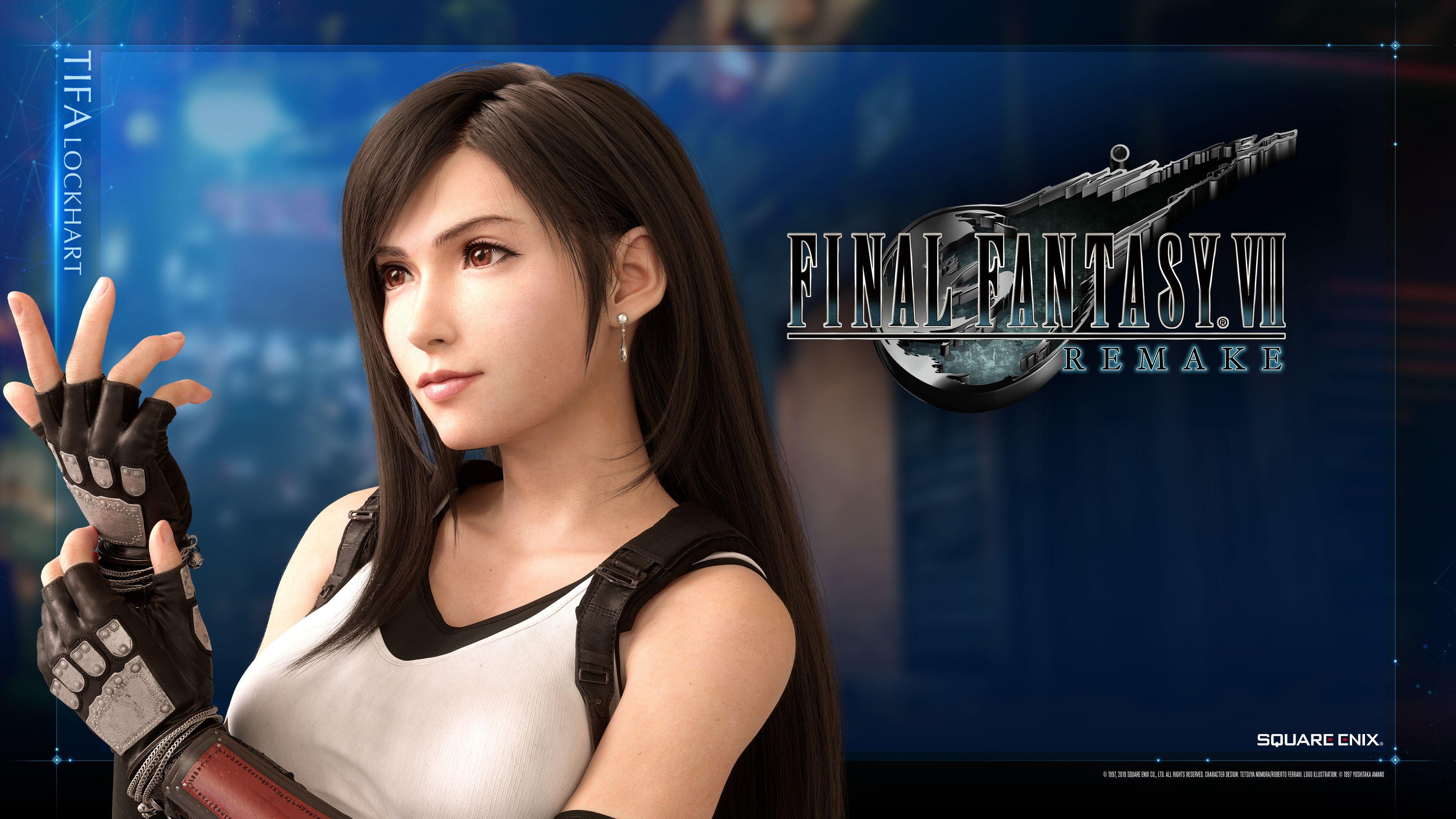 Final Fantasy Vii Remake Wallpapers Top Free Final Fantasy Vii