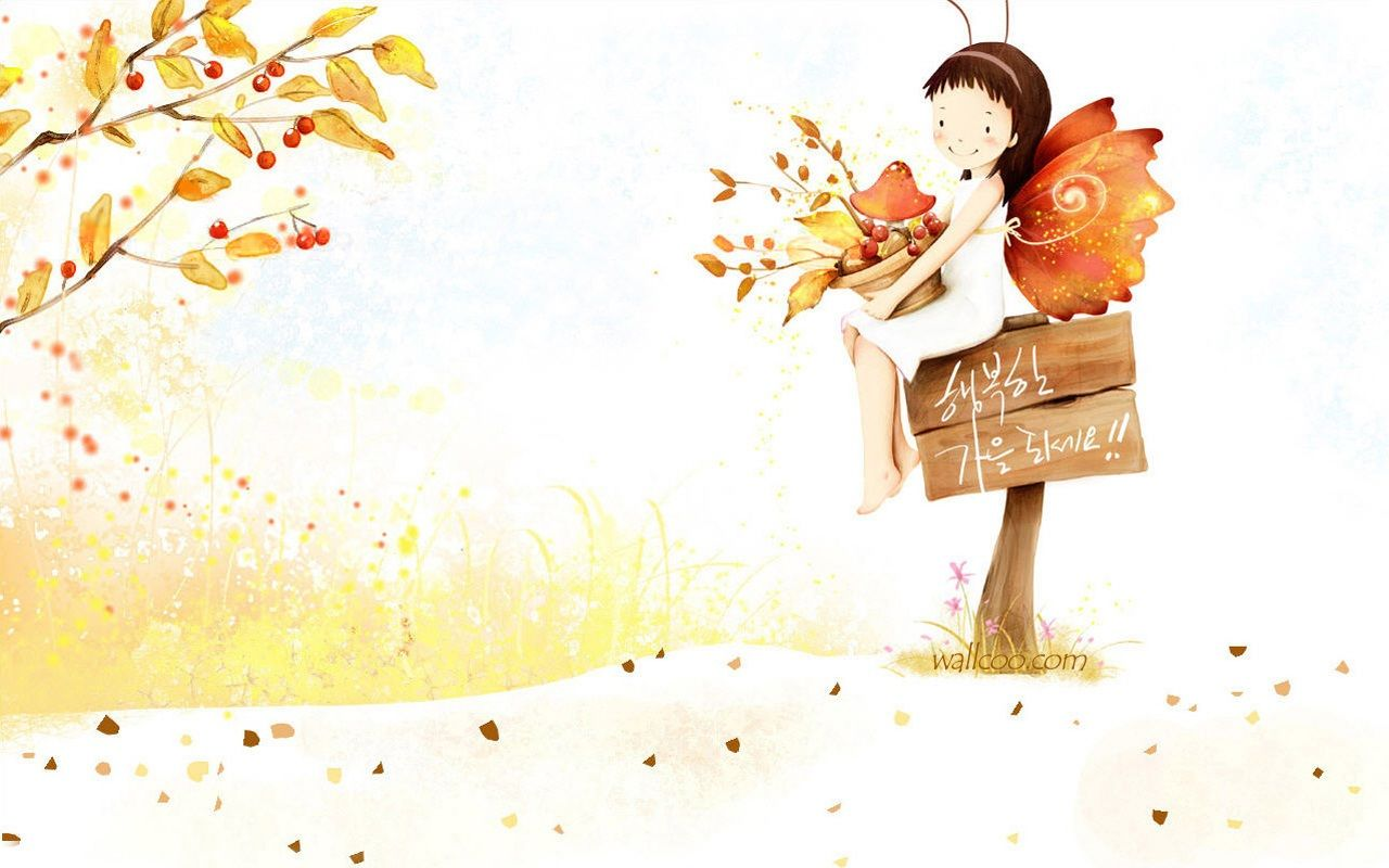 55 Best Free Cute Fall Cartoon Wallpapers Wallpaperaccess