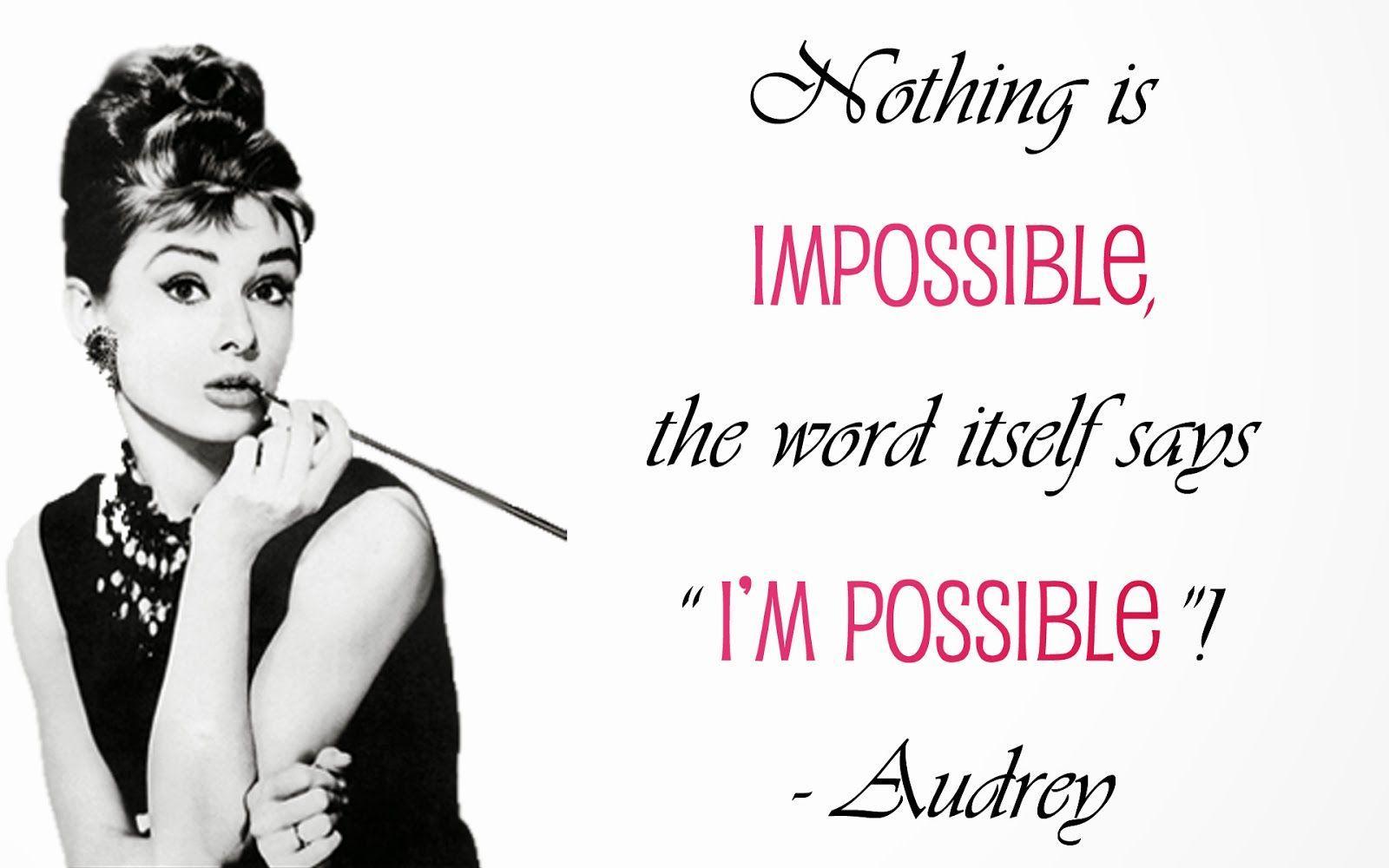 Audrey Hepburn Quotes Wallpapers - Top ...
