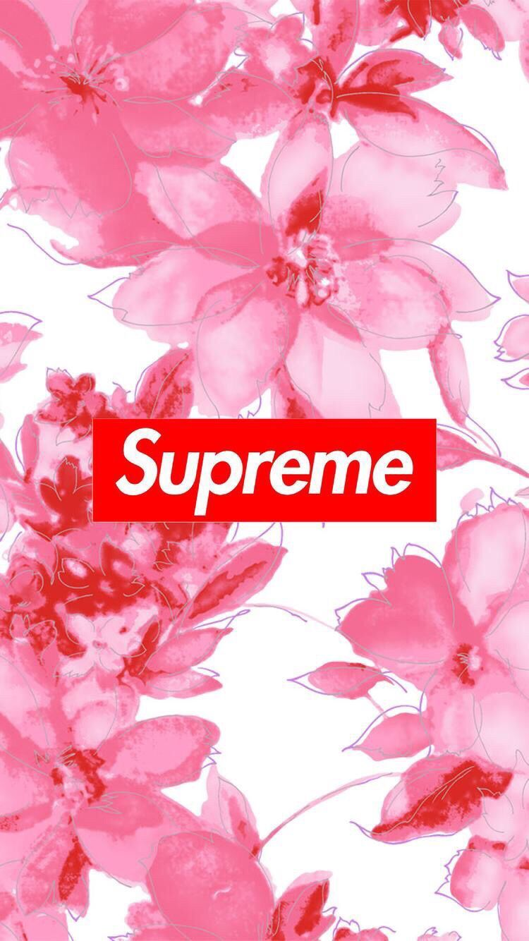 Pink Supreme Wallpapers Top Free Pink Supreme Backgrounds Wallpaperaccess