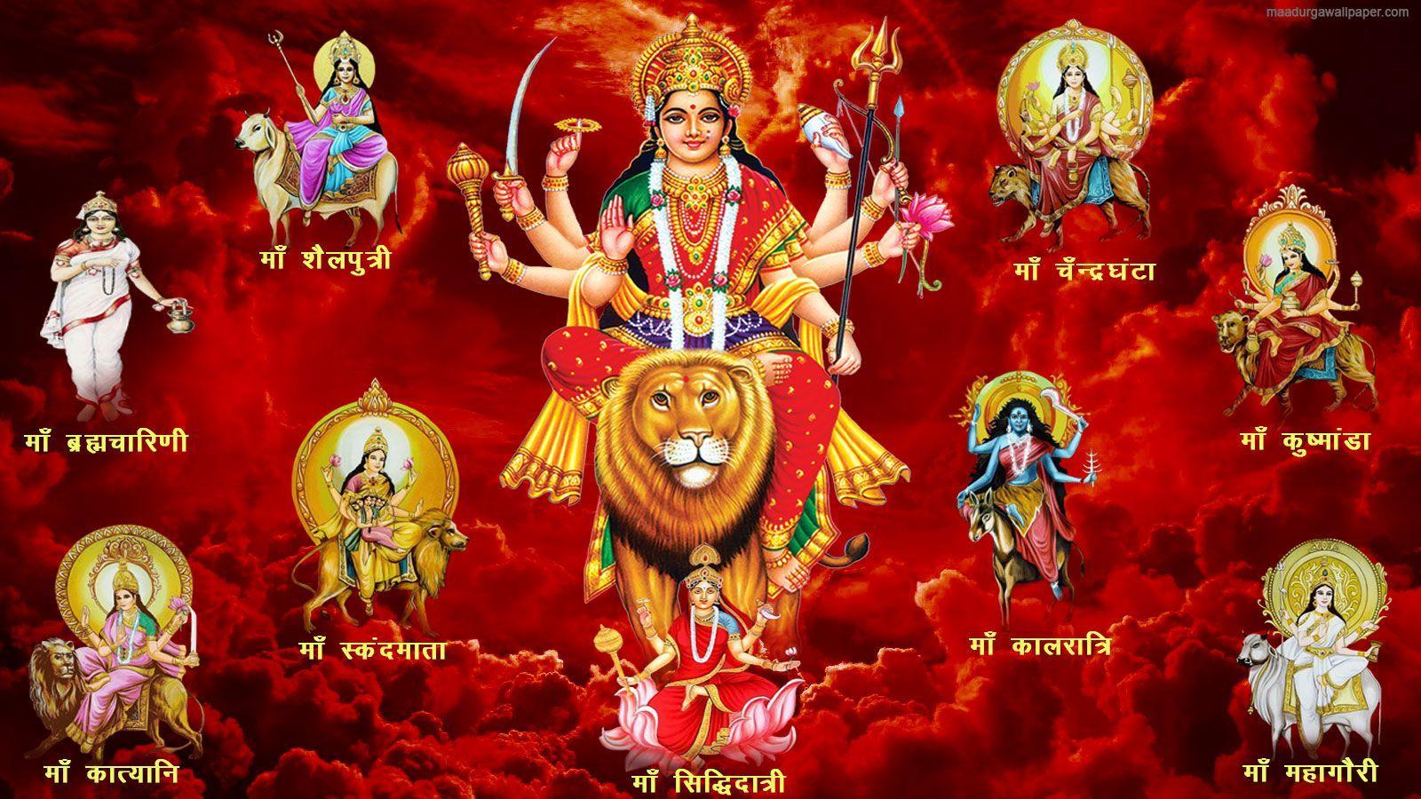 Goddess Durga Wallpapers Top Free Goddess Durga Backgrounds Wallpaperaccess