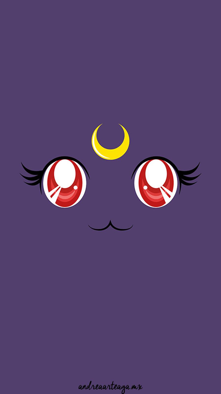 Sailor Moon Luna iPhone Wallpapers ...