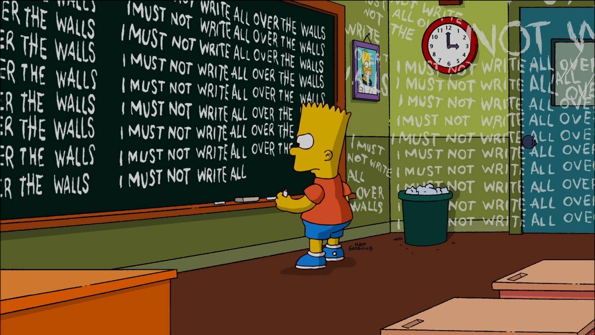 Simpsons Aesthetic Computer Wallpapers Top Free Simpsons Aesthetic Computer Backgrounds Wallpaperaccess
