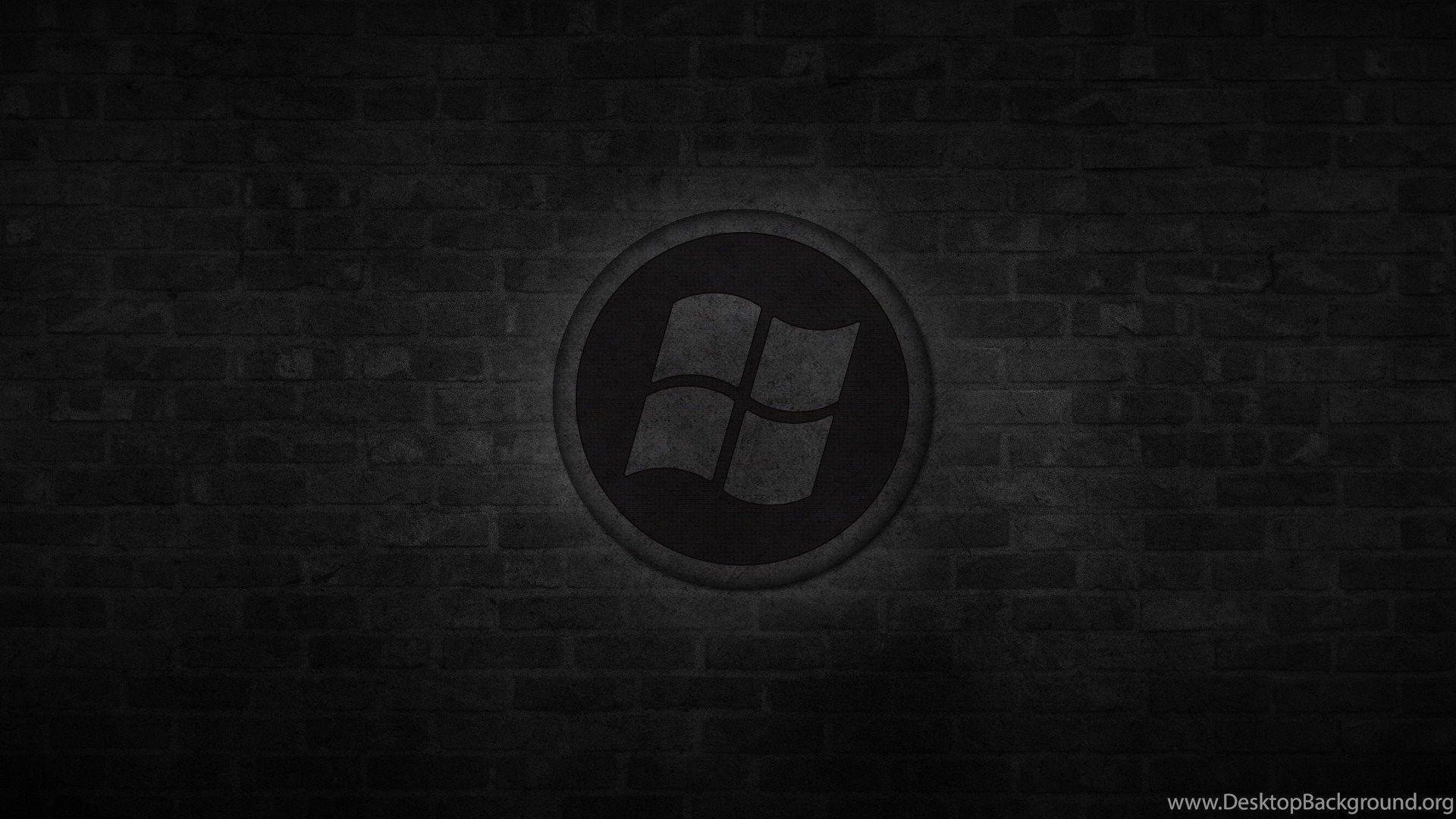 Black Windows Logo Wallpapers Top Free Black Windows Logo