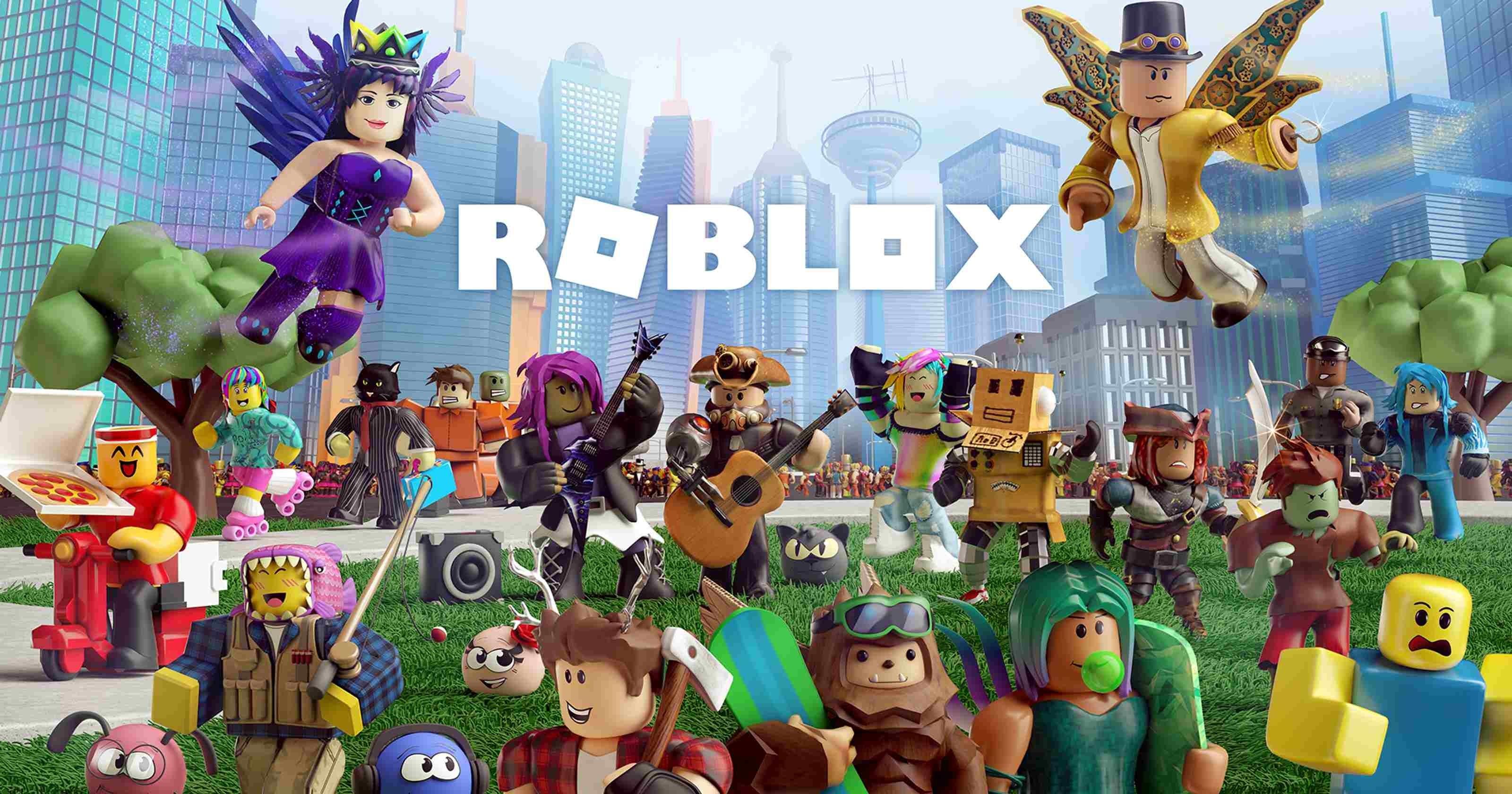 Hình nền Roblox dễ thương 3200x1680