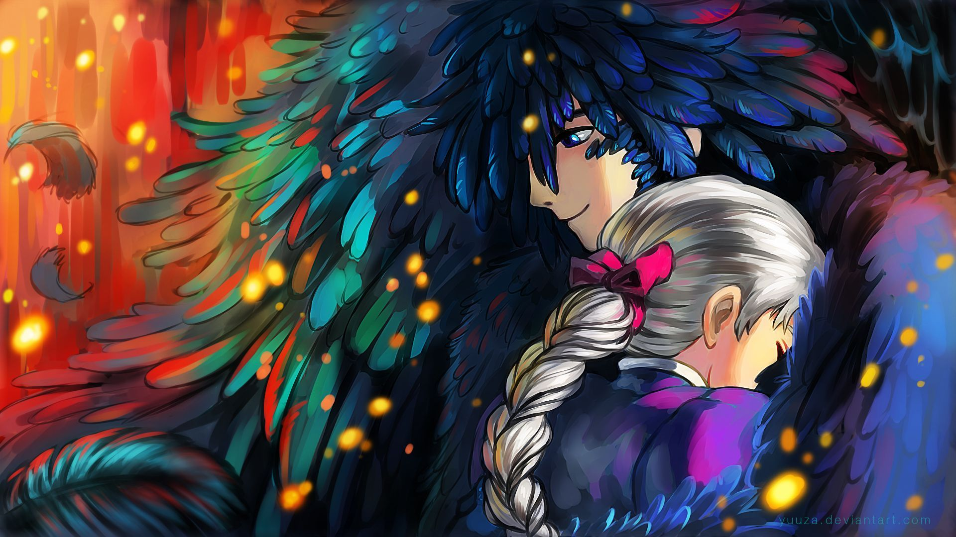 Anime Howls Moving Castle Wallpapers Top Free Anime Howls Moving Castle Backgrounds Wallpaperaccess