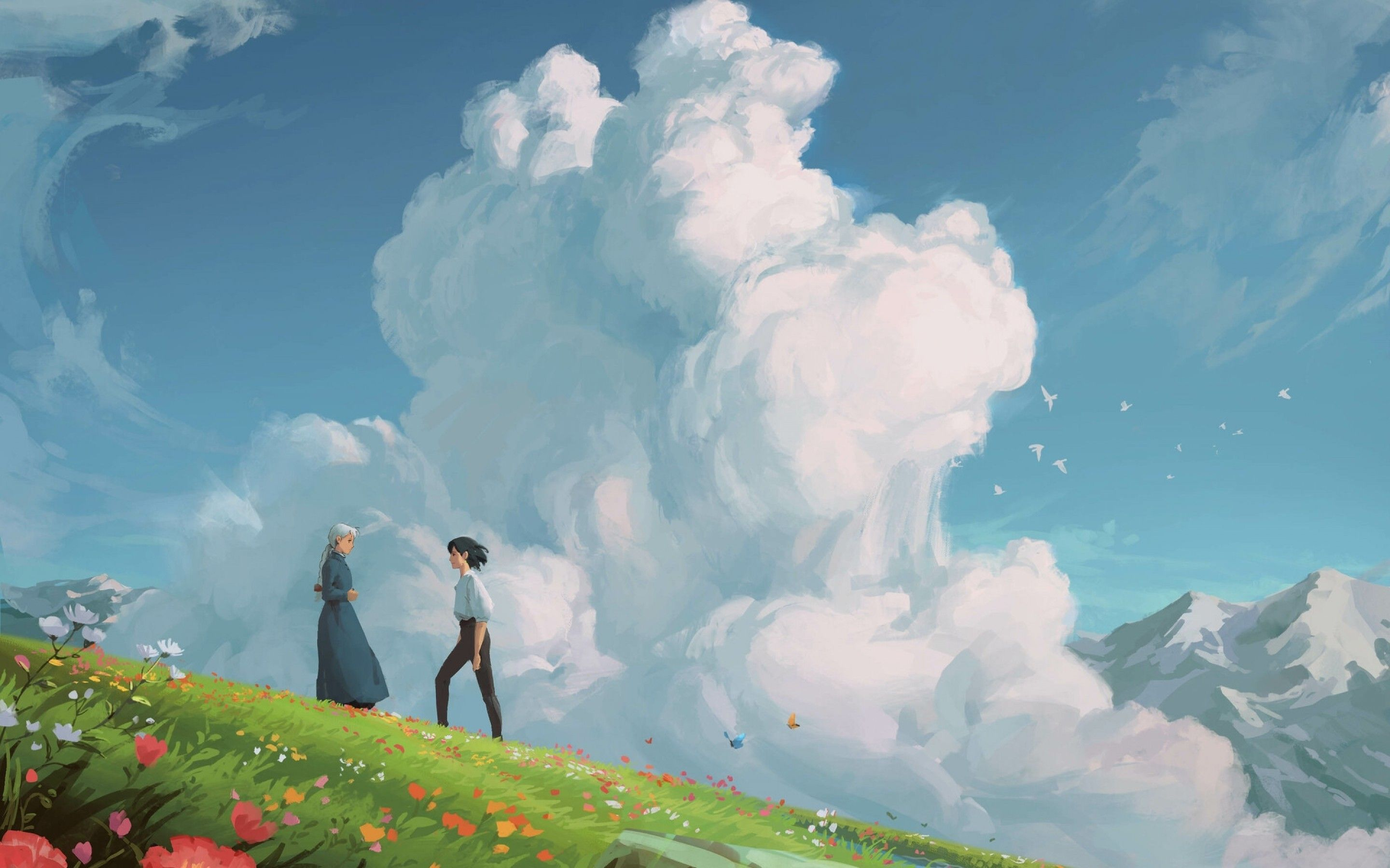 Anime Howls Moving Castle Wallpapers - Top Free Anime ...