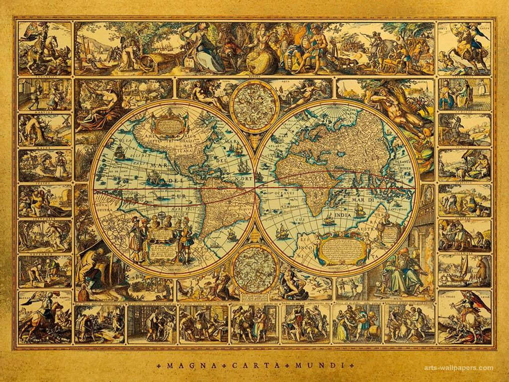 41 Best Free Antique Map Wallpapers - WallpaperAccess