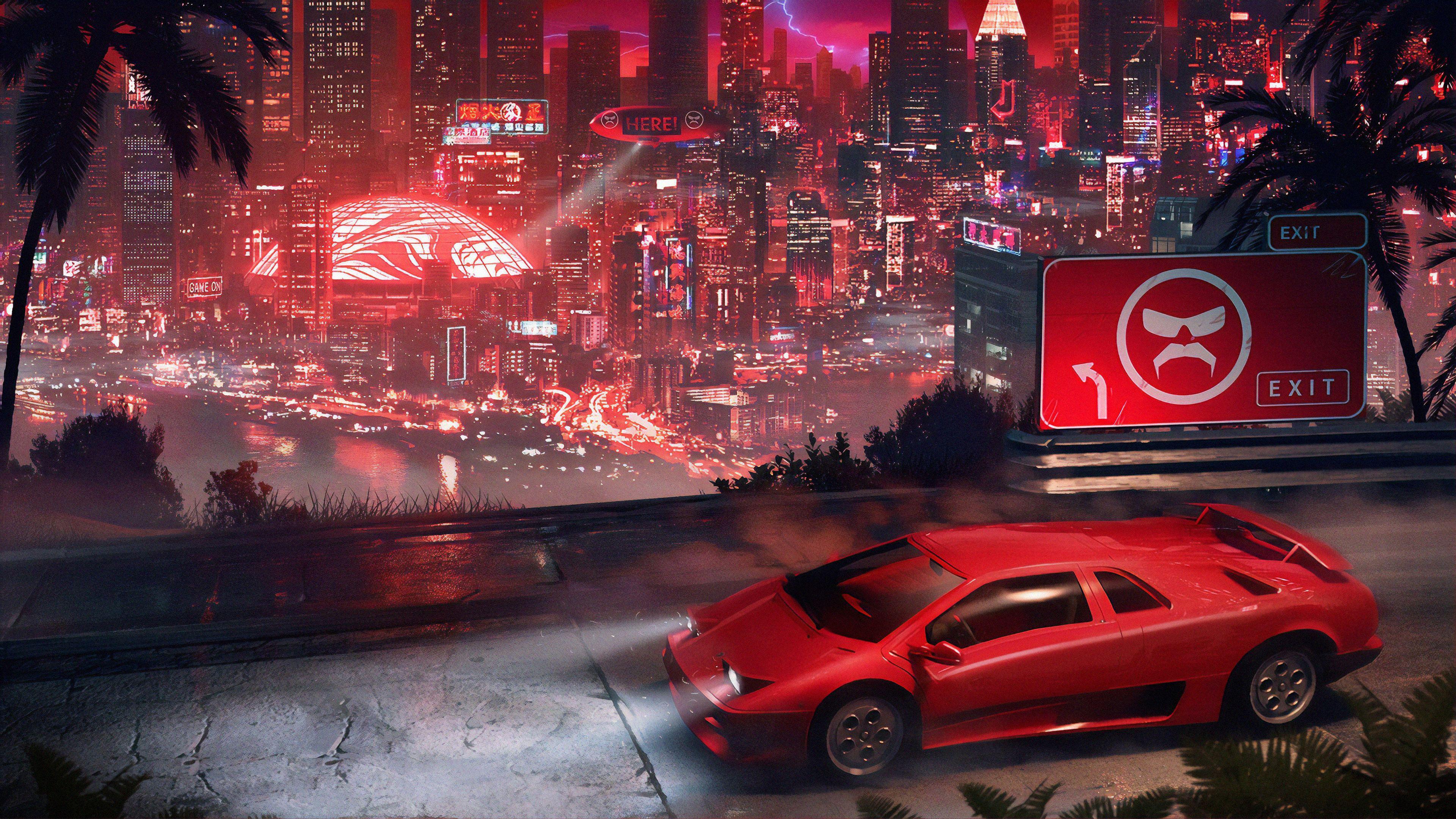 Cyberpunk Red Wallpapers - Top Free Cyberpunk Red ...