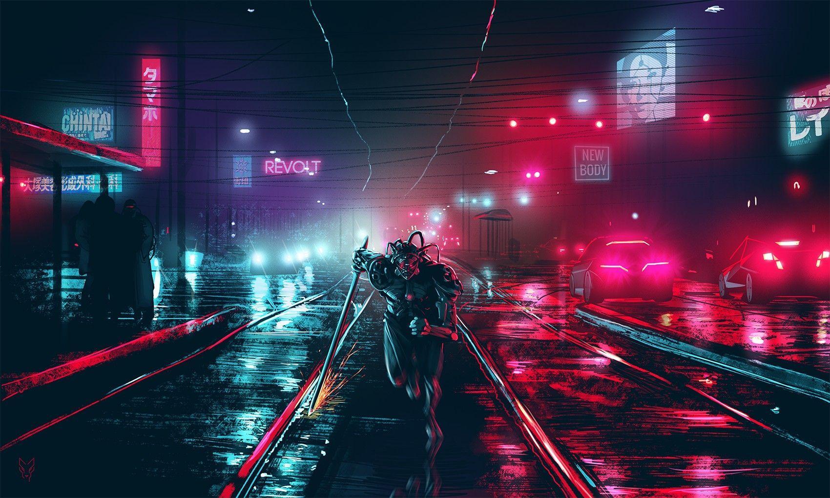 Dark Cyberpunk Wallpapers Top Free Dark Cyberpunk Backgrounds Wallpaperaccess