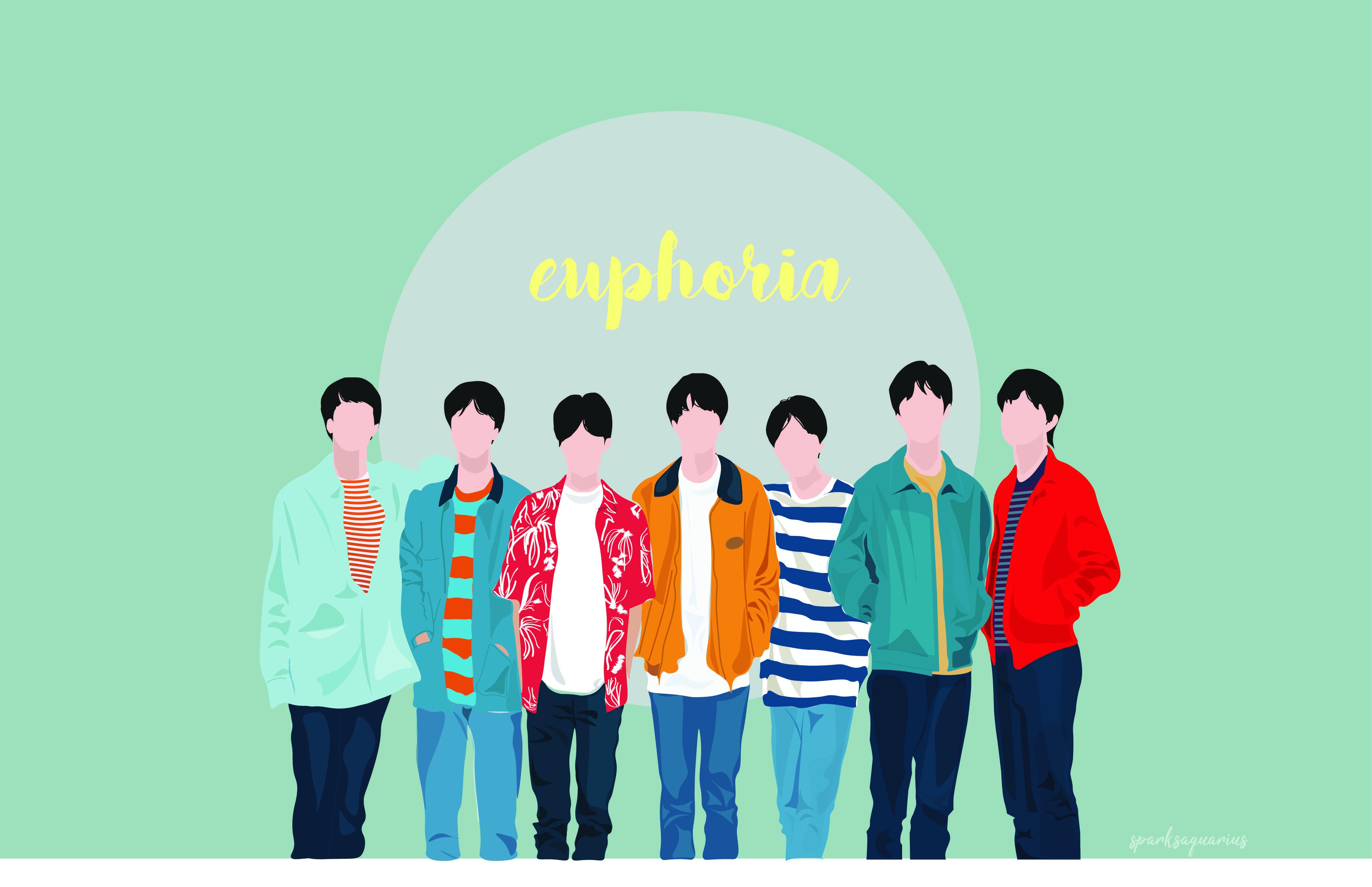 Bts Euphoria Laptop Wallpapers Top Free Bts Euphoria Laptop Backgrounds Wallpaperaccess