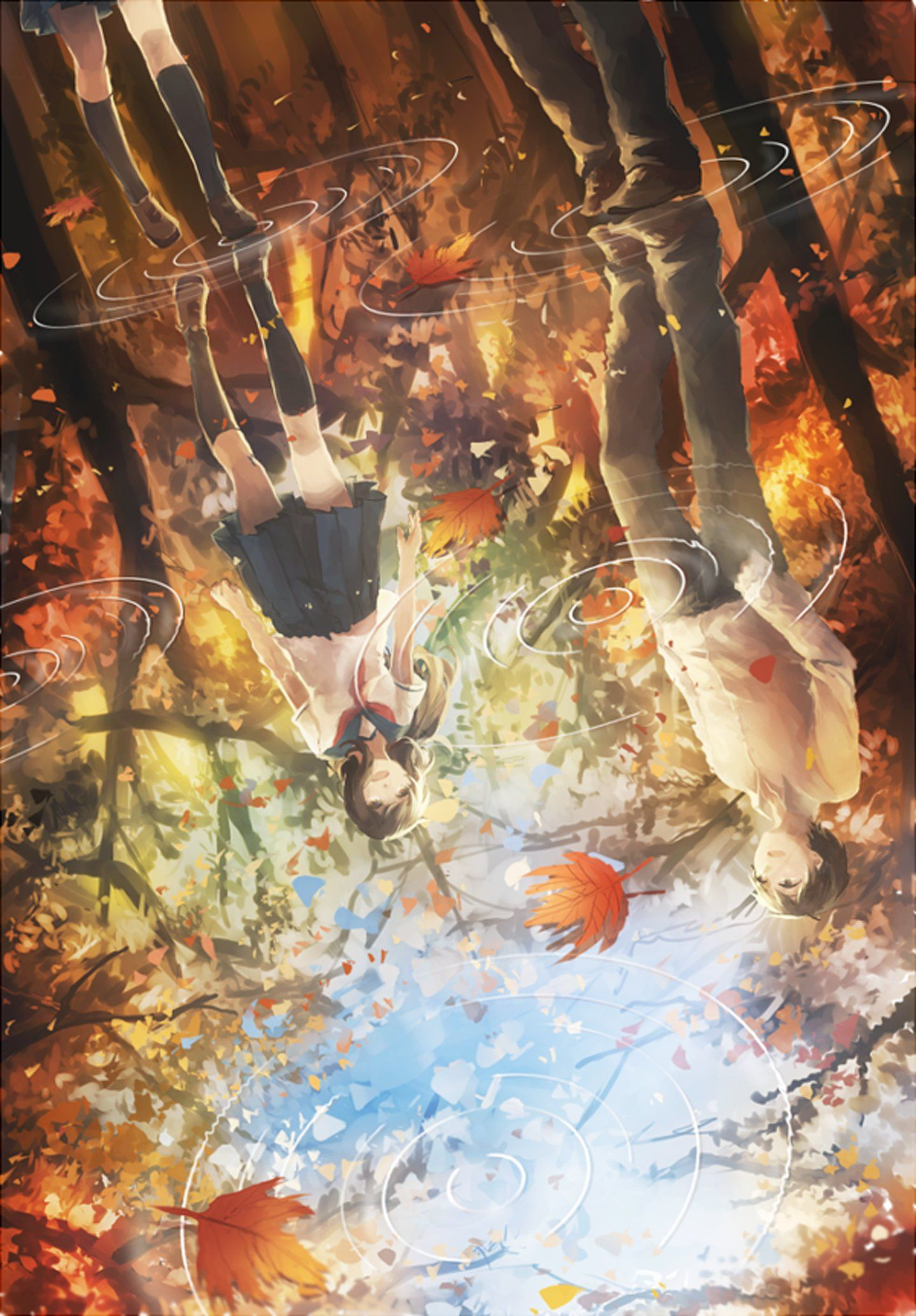 Autumn Anime Wallpapers Top Free Autumn Anime Backgrounds Wallpaperaccess