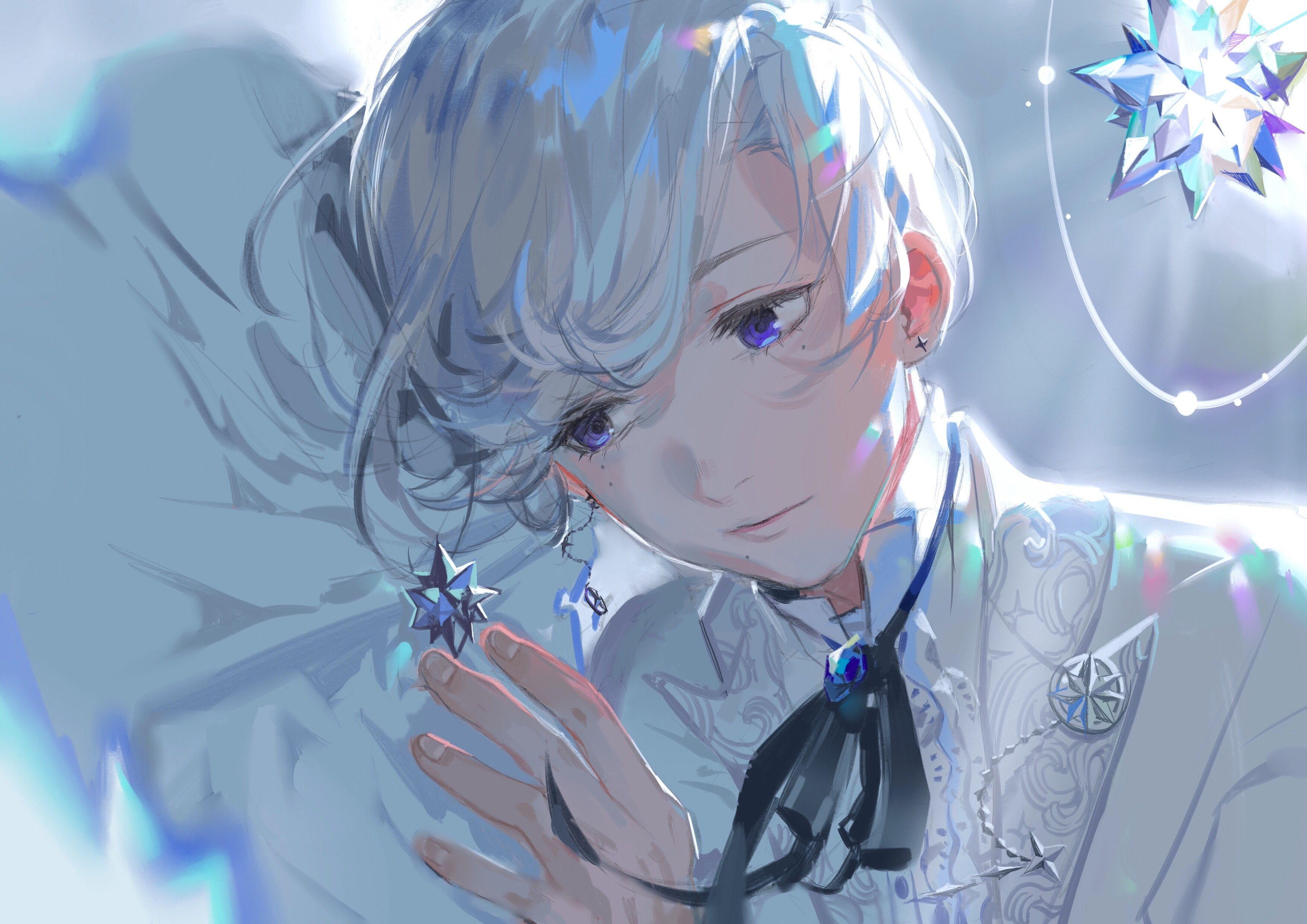 Anime Boy White Wallpapers Top Free Anime Boy White Backgrounds