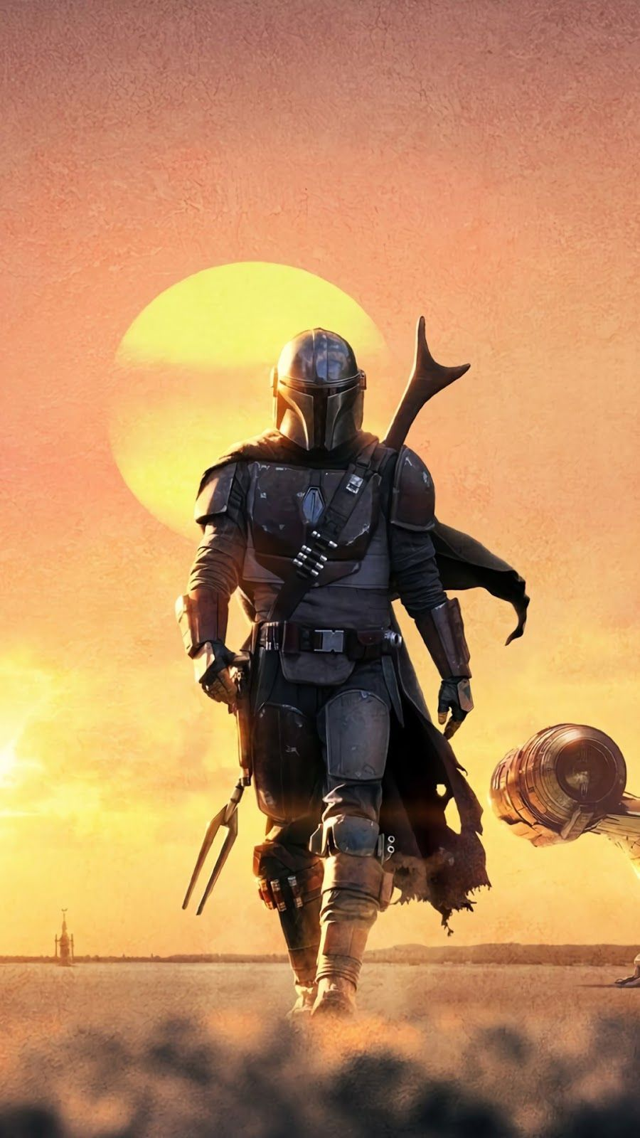 Mandalorian Phone Wallpapers Top Free Mandalorian Phone Backgrounds Wallpaperaccess
