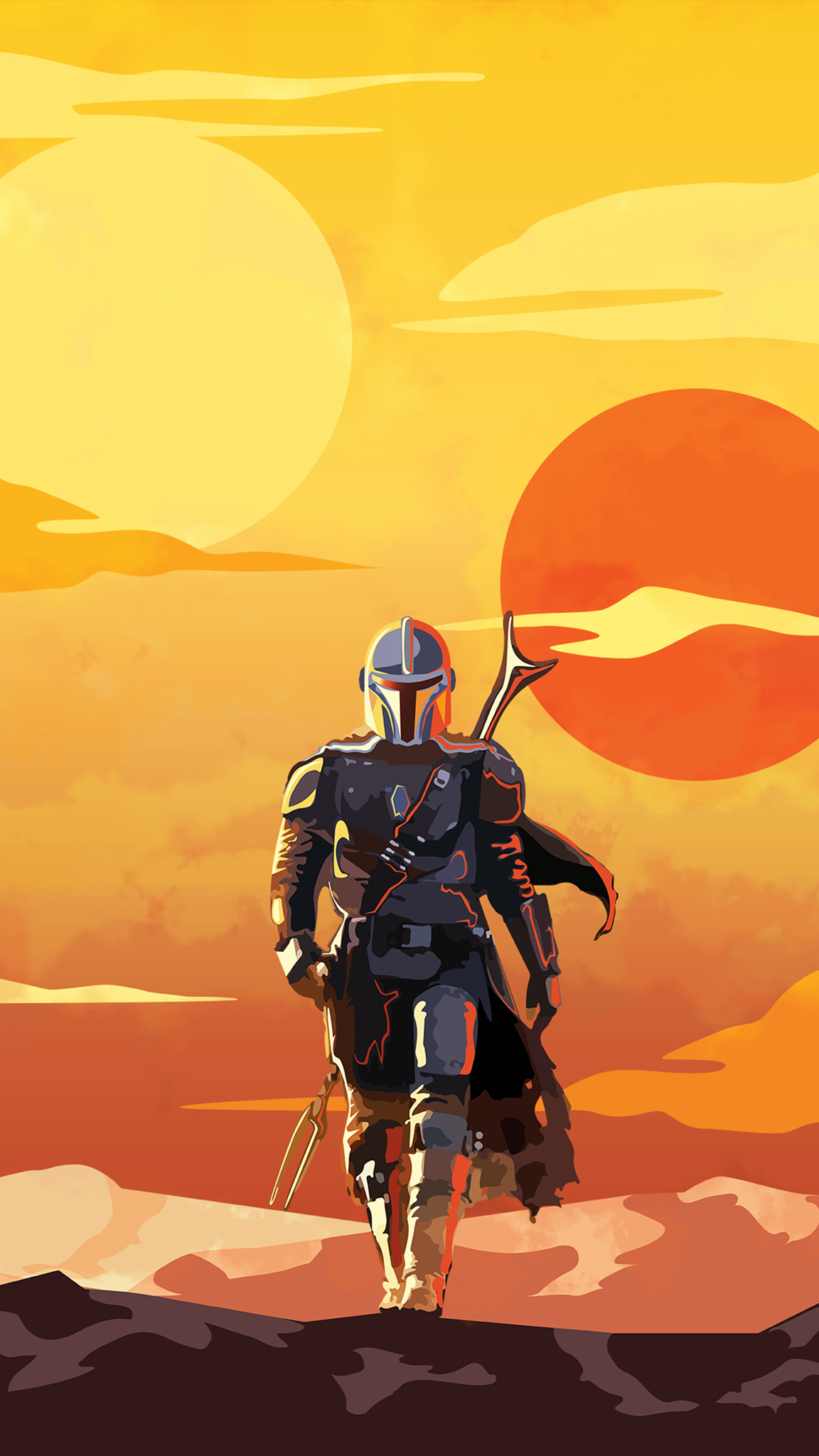 The Mandalorian Phone Wallpapers Top Free The Mandalorian Phone Backgrounds Wallpaperaccess