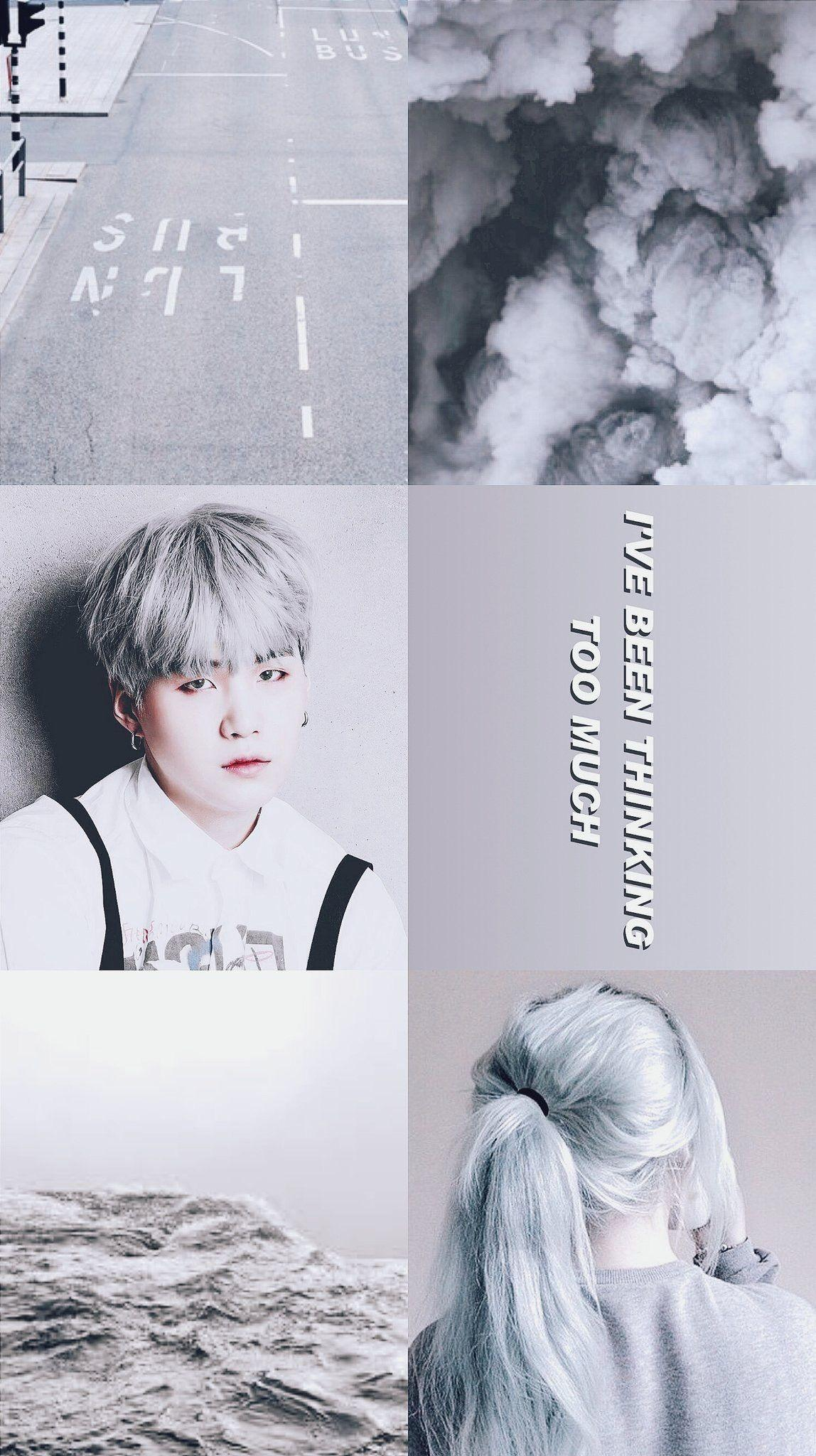 Bts Aesthetic Suga Wallpapers Top Free Bts Aesthetic Suga Backgrounds Wallpaperaccess