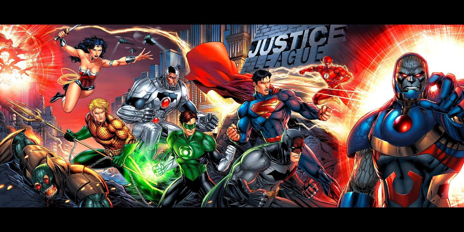 Justice League New 52 Wallpapers Top Free Justice League