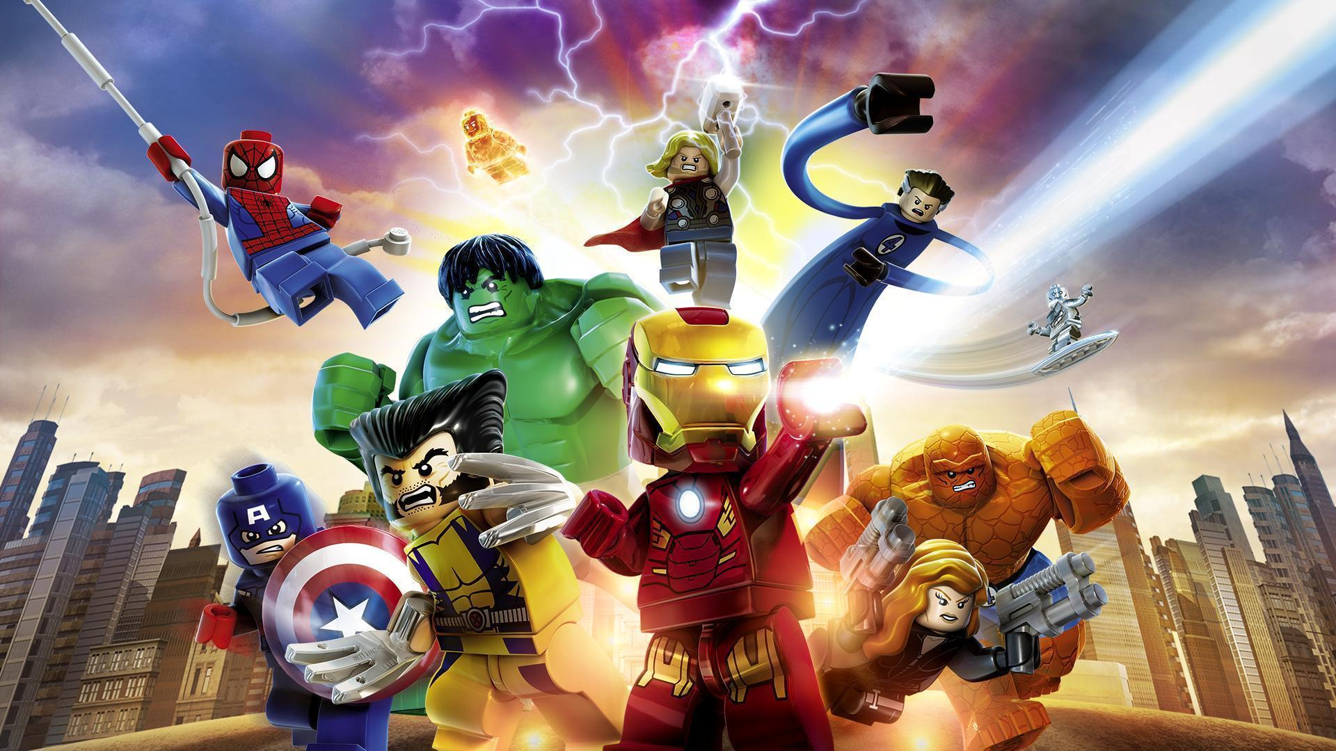 Lego Marvel Super Heroes Wallpapers Top Free Lego Marvel