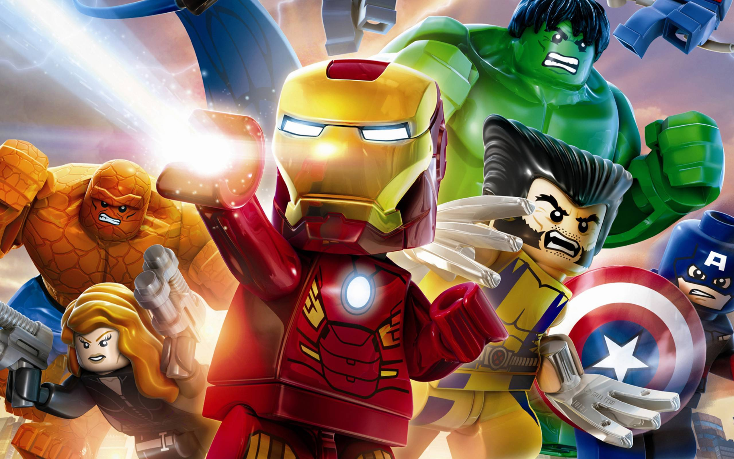 Lego Marvel Avengers Wallpapers Top Free Lego Marvel Avengers Backgrounds Wallpaperaccess