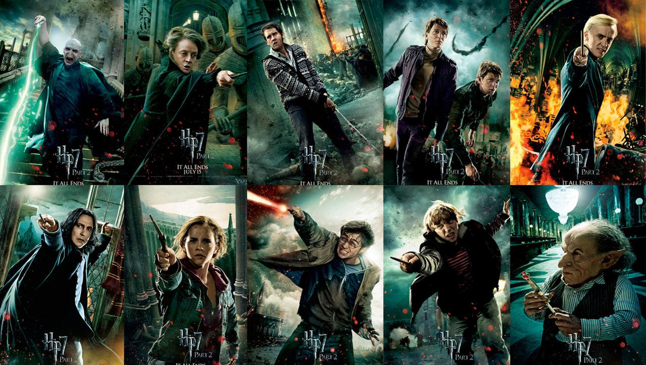 Harry Potter All Characters Wallpapers Top Free Harry
