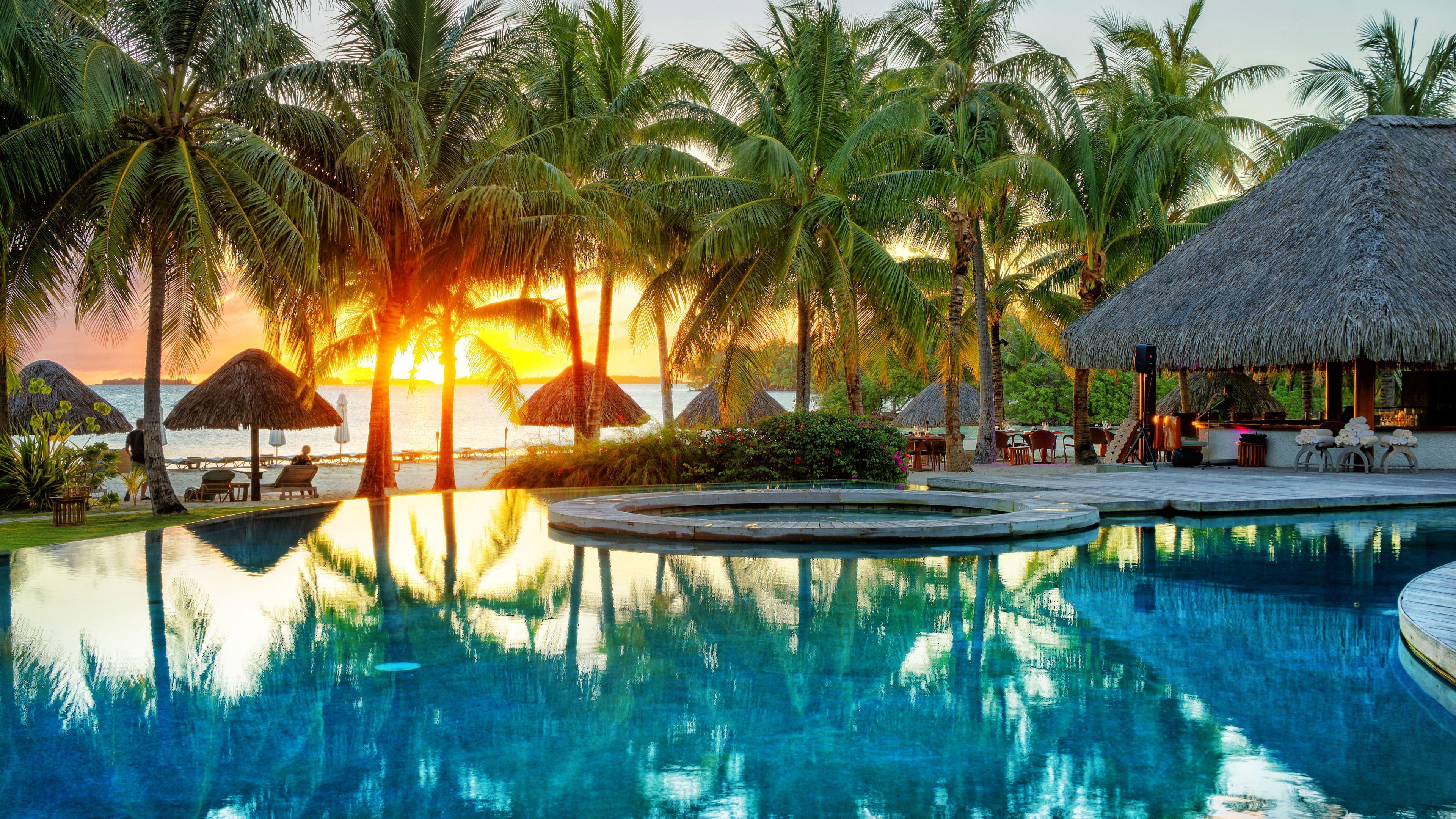 Four Seasons Bora Bora Wallpapers Top Free Four Seasons
