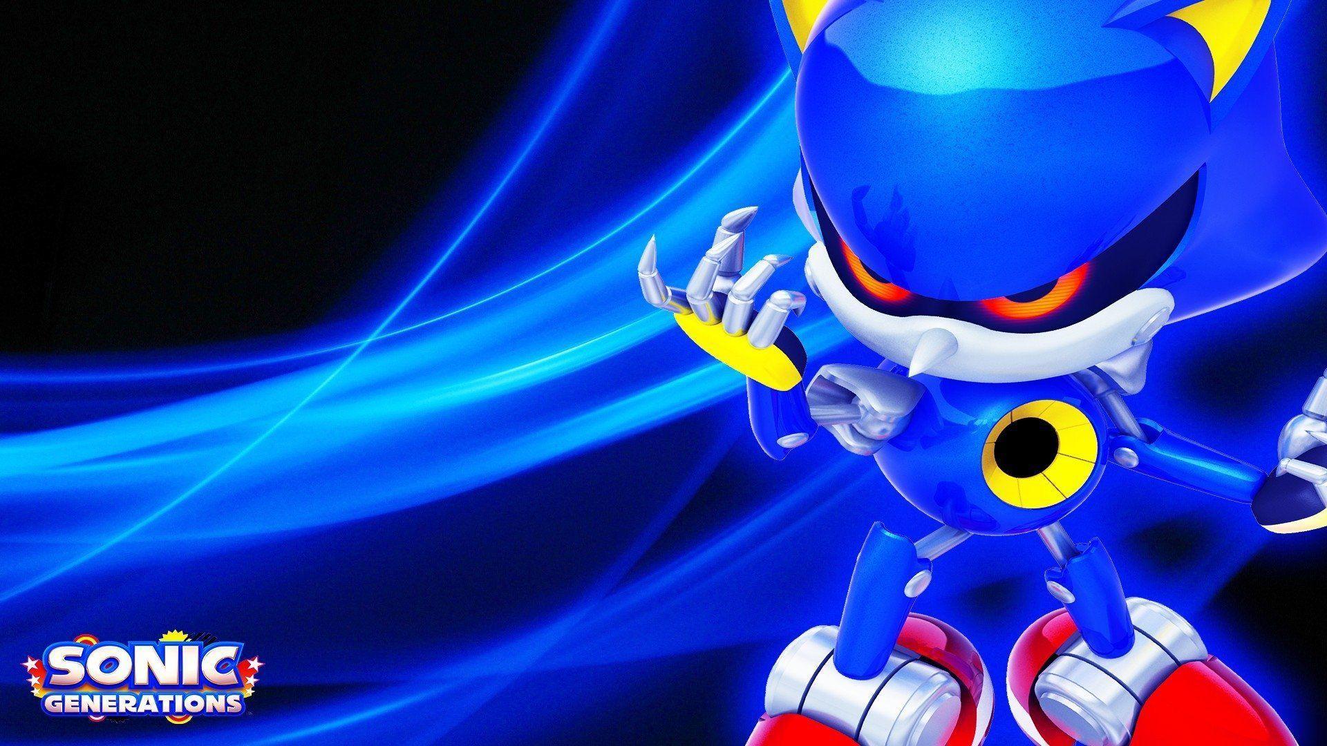 Metal Sonic Wallpapers Top Free Metal Sonic Backgrounds