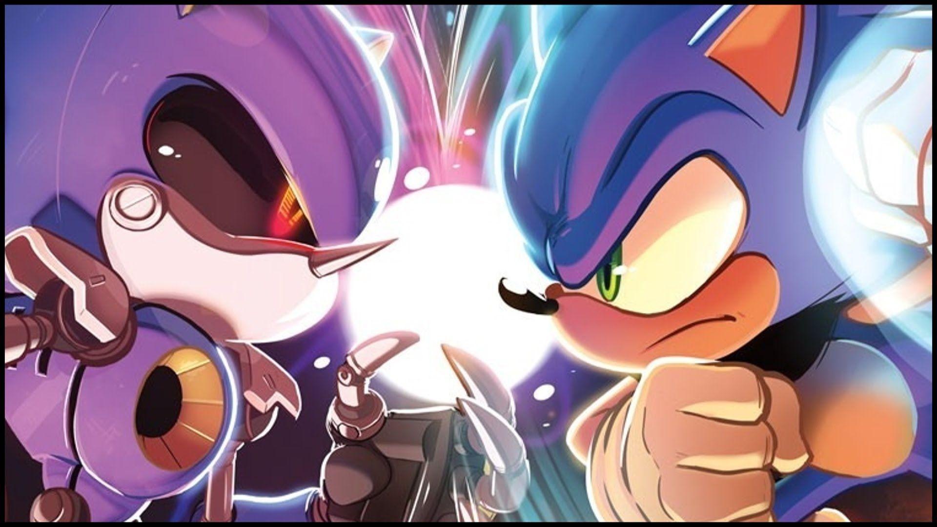 Metal Sonic Vs Sonic Metal Sonic Fan Foto 36561409 Fanpop