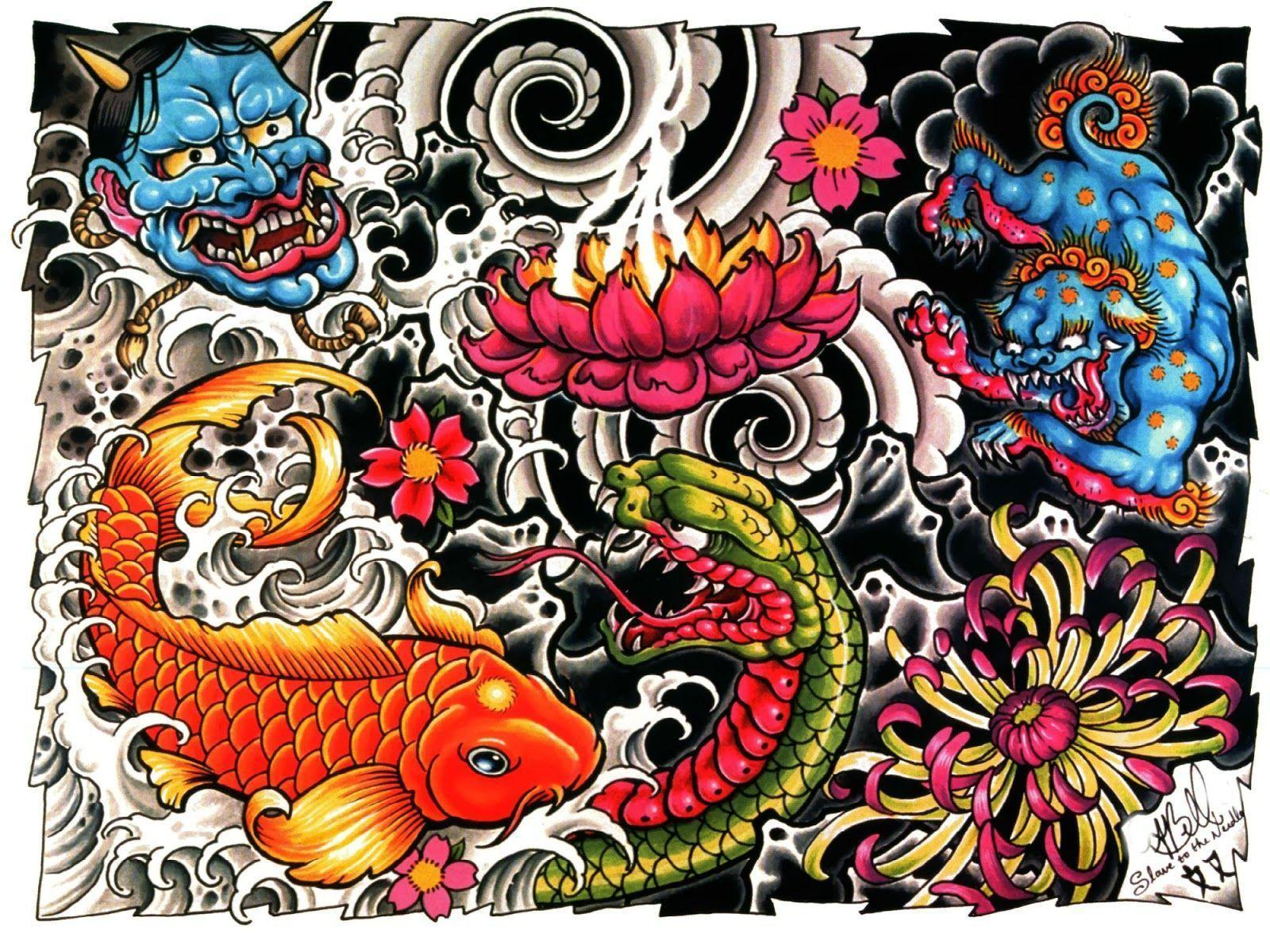 Tattoo Design Wallpapers Top Free Tattoo Design Backgrounds Wallpaperaccess